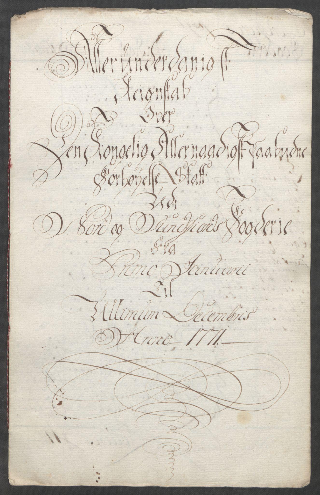 RA, Rentekammeret inntil 1814, Reviderte regnskaper, Fogderegnskap, R53/L3550: Ekstraskatten Sunn- og Nordfjord, 1762-1771, s. 344