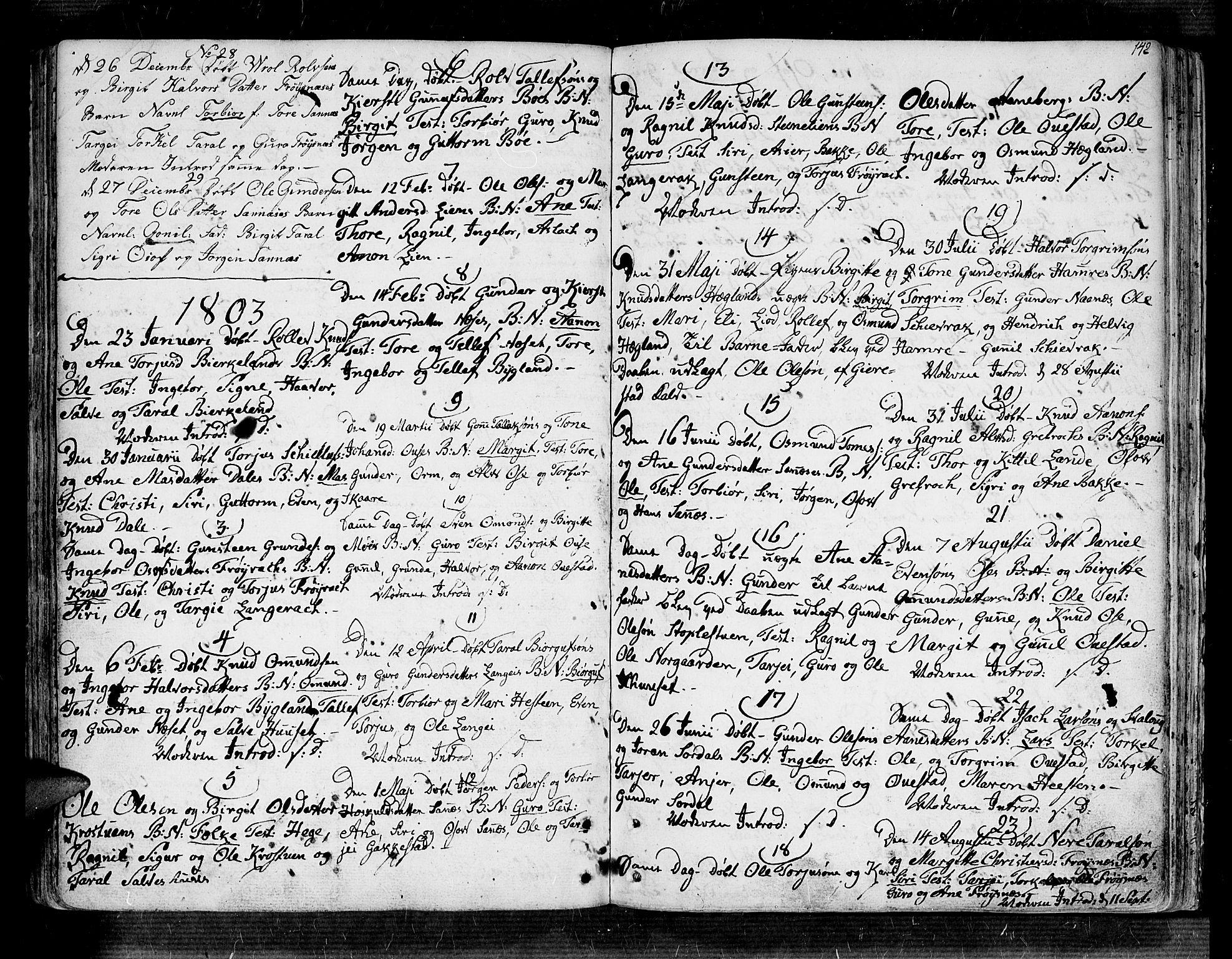 SAK, Bygland sokneprestkontor, F/Fa/Fab/L0002: Ministerialbok nr. A 2, 1766-1816, s. 136