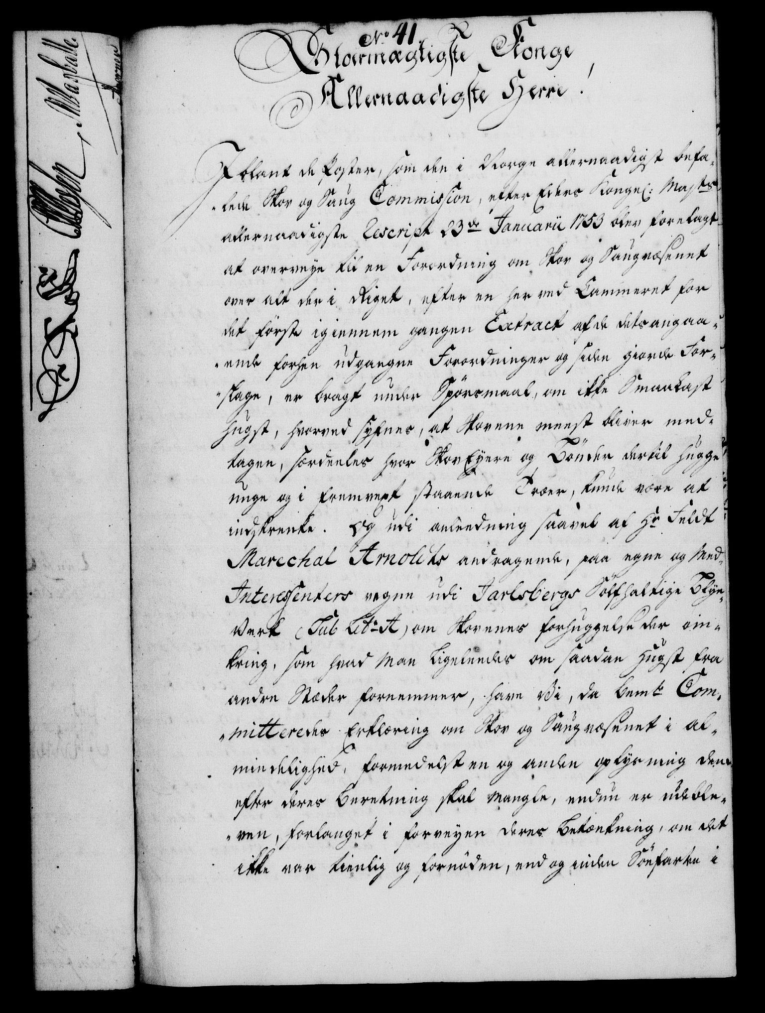 RA, Rentekammeret, Kammerkanselliet, G/Gf/Gfa/L0036: Norsk relasjons- og resolusjonsprotokoll (merket RK 52.36), 1754, s. 222