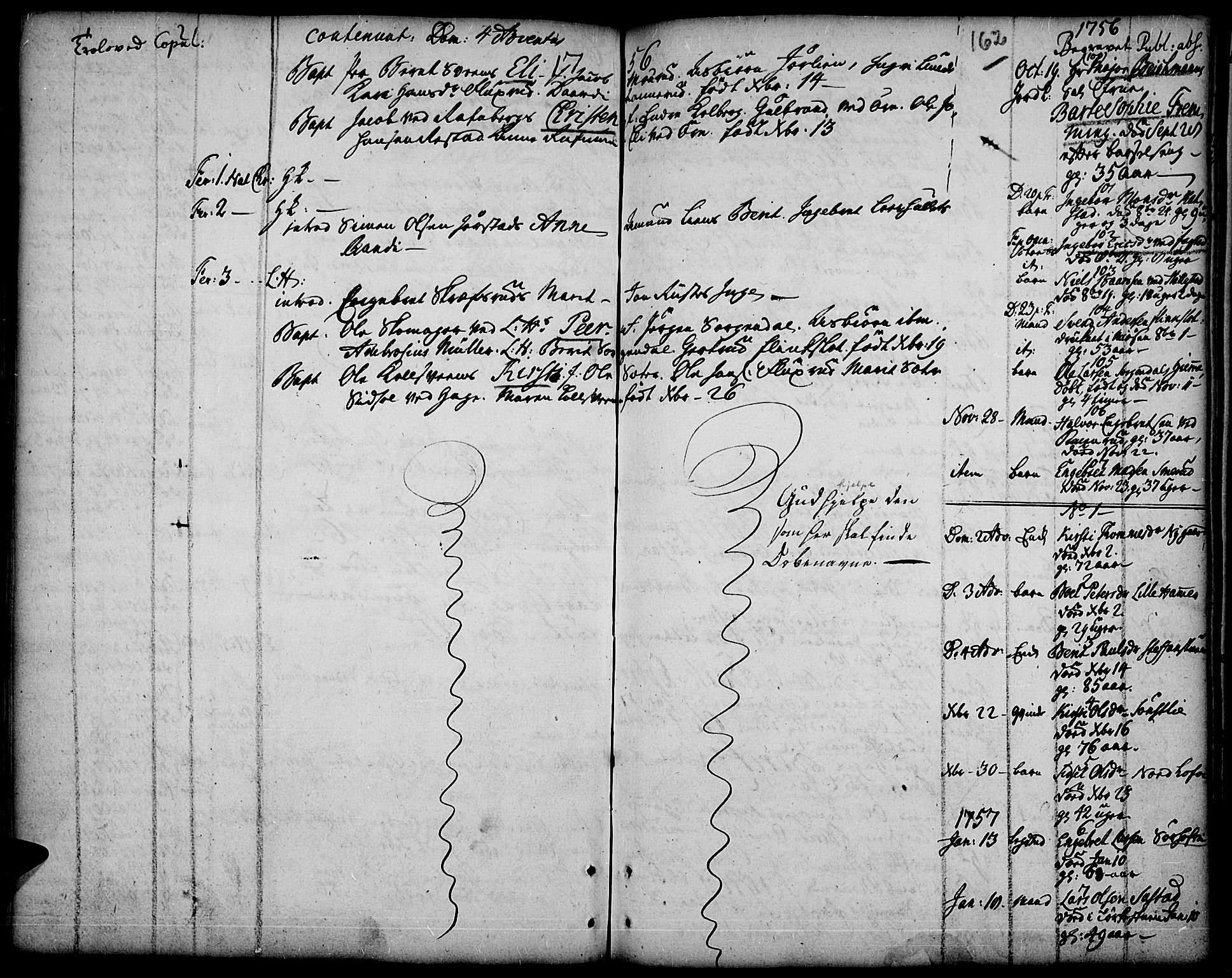SAH, Fåberg prestekontor, Ministerialbok nr. 1, 1727-1775, s. 162
