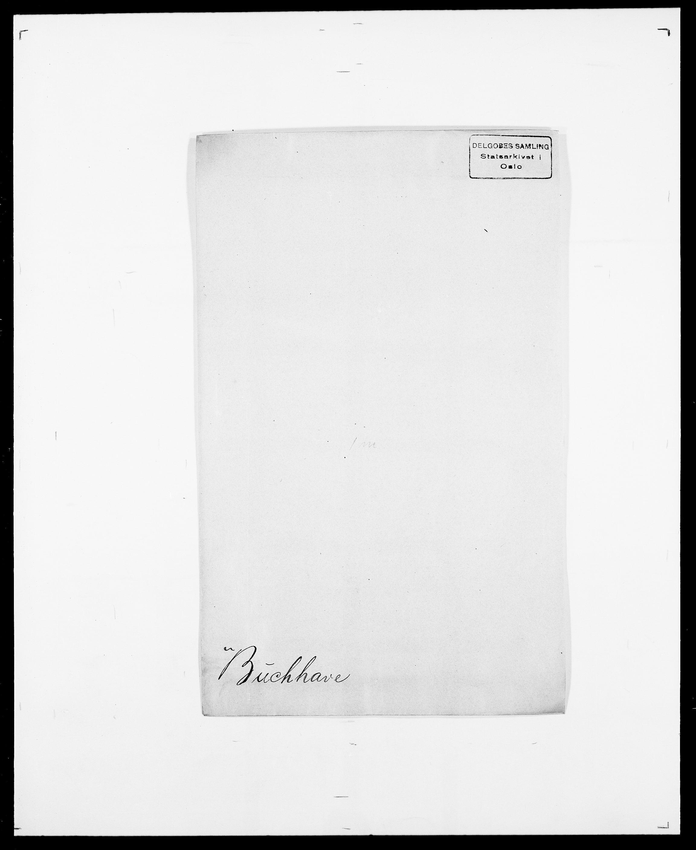 SAO, Delgobe, Charles Antoine - samling, D/Da/L0007: Buaas - Caphengst, s. 91