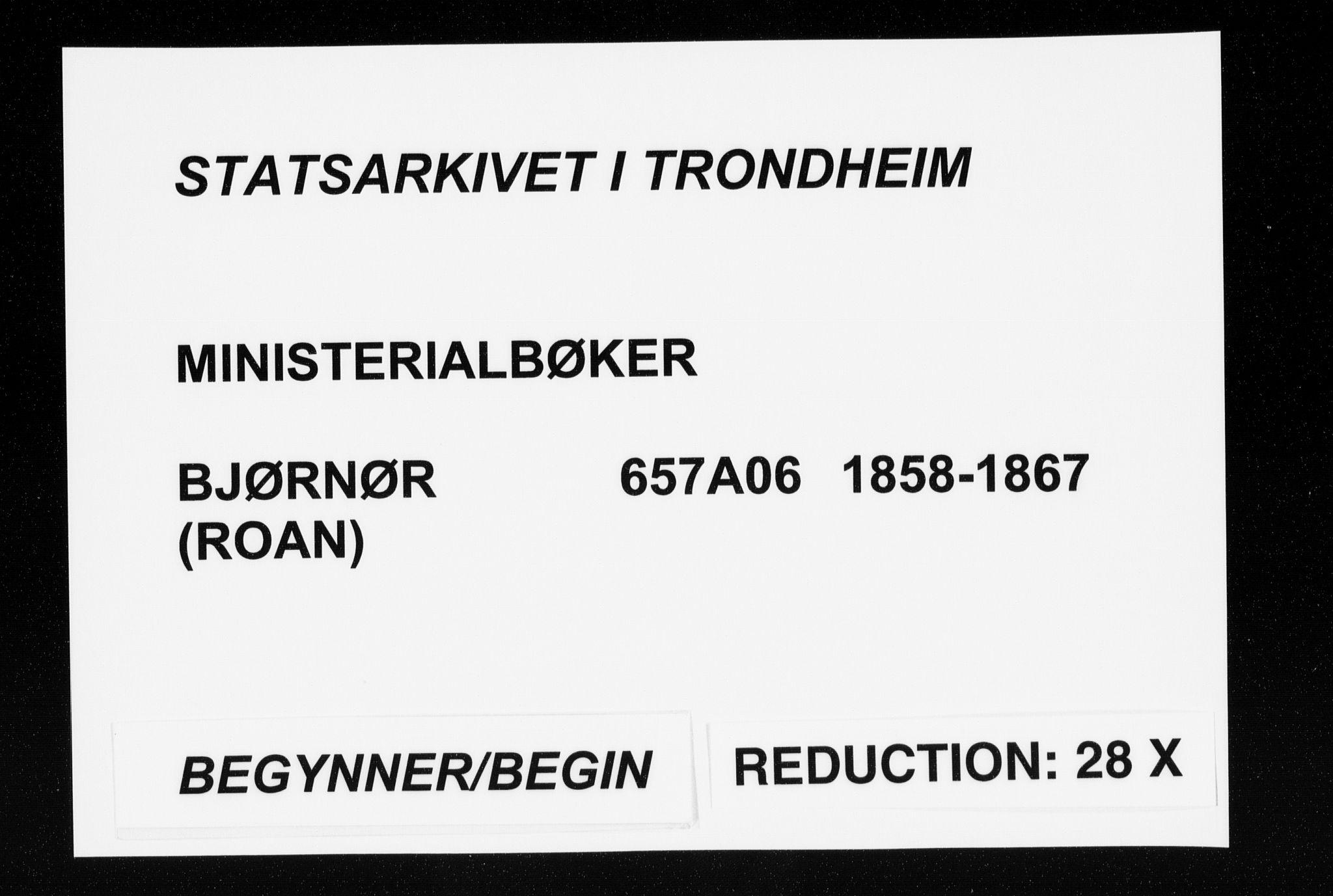 SAT, Ministerialprotokoller, klokkerbøker og fødselsregistre - Sør-Trøndelag, 657/L0705: Ministerialbok nr. 657A06, 1858-1867