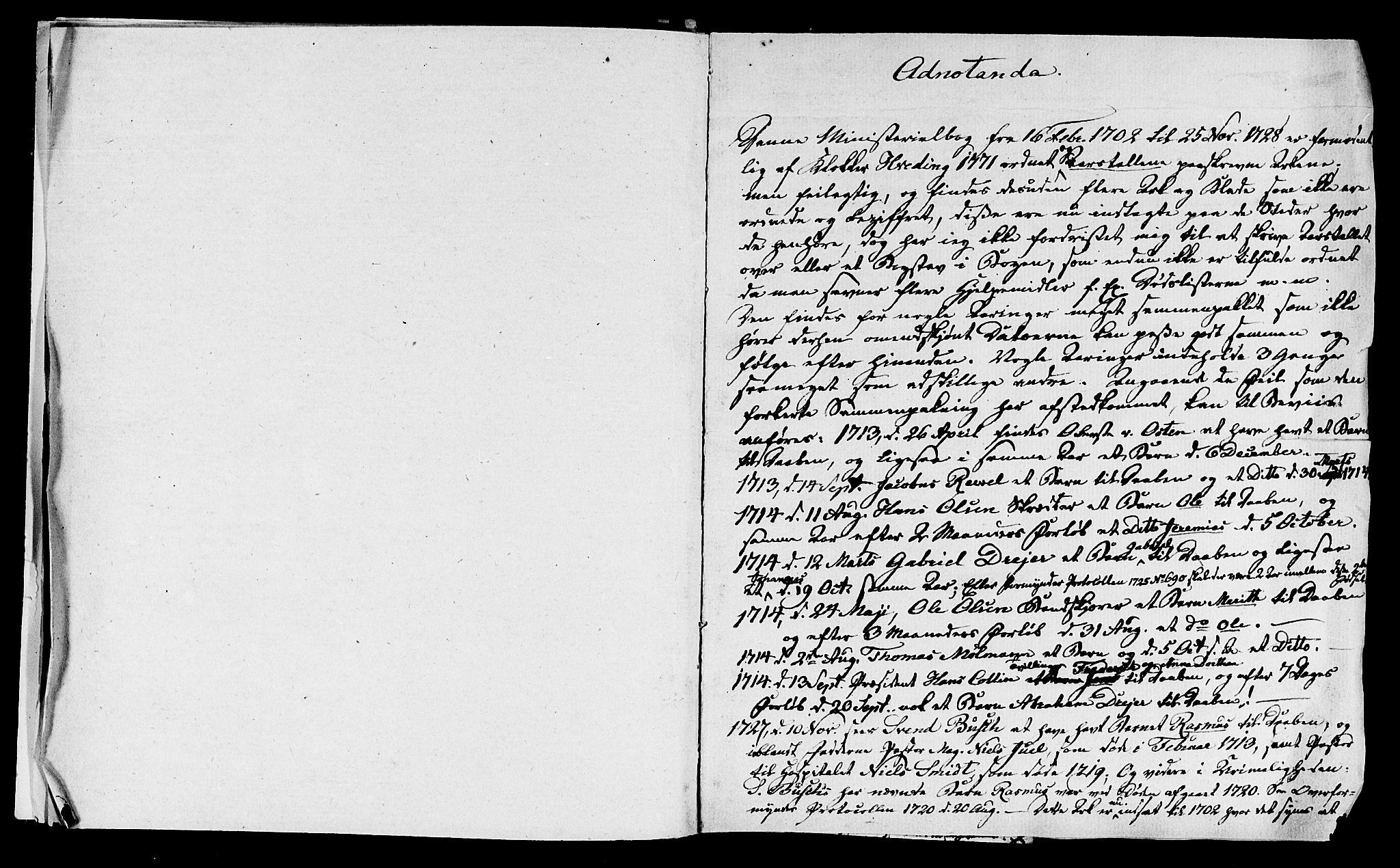 SAT, Ministerialprotokoller, klokkerbøker og fødselsregistre - Sør-Trøndelag, 601/L0034: Ministerialbok nr. 601A02, 1702-1714