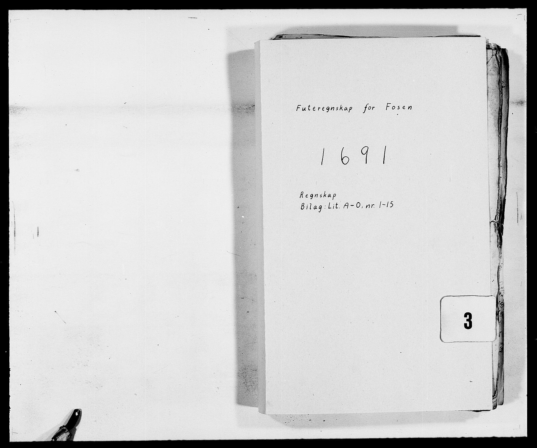 RA, Rentekammeret inntil 1814, Reviderte regnskaper, Fogderegnskap, R57/L3848: Fogderegnskap Fosen, 1690-1691, s. 201