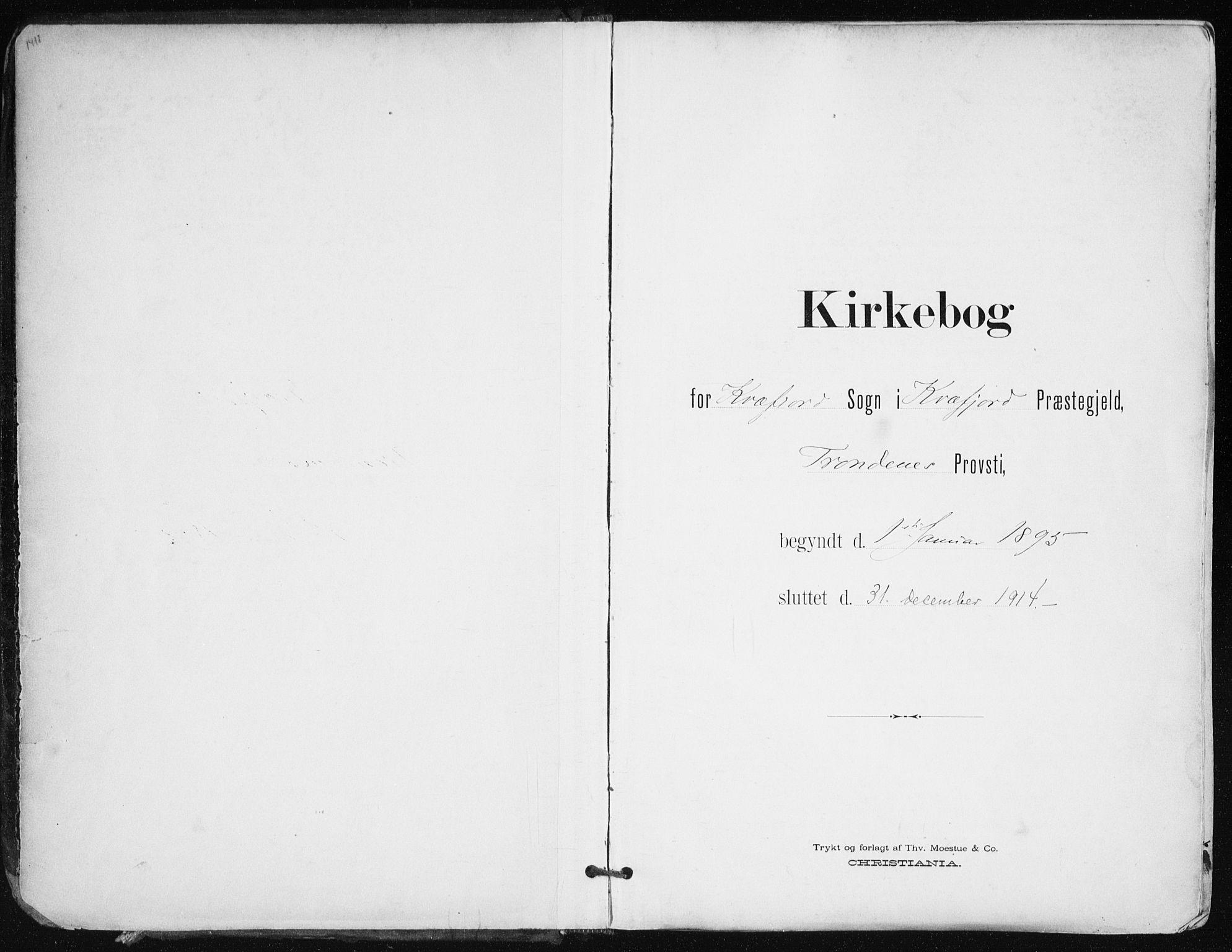 SATØ, Kvæfjord sokneprestkontor, G/Ga/Gaa/L0006kirke: Ministerialbok nr. 6, 1895-1914