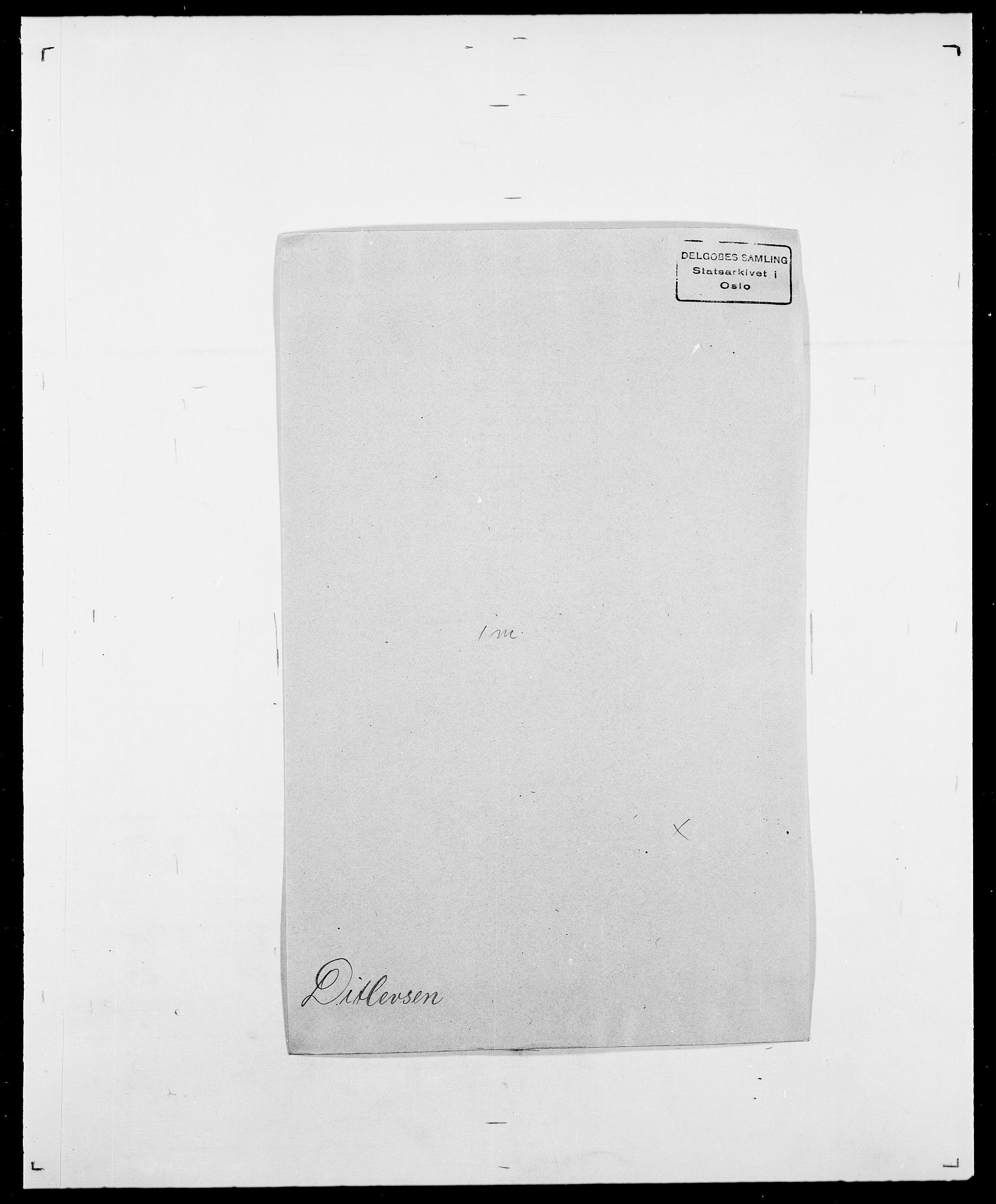 SAO, Delgobe, Charles Antoine - samling, D/Da/L0009: Dahl - v. Düren, s. 600