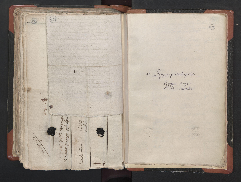 RA, Sogneprestenes manntall 1664-1666, nr. 1: Nedre Borgesyssel prosti, 1664-1666, s. 497-498