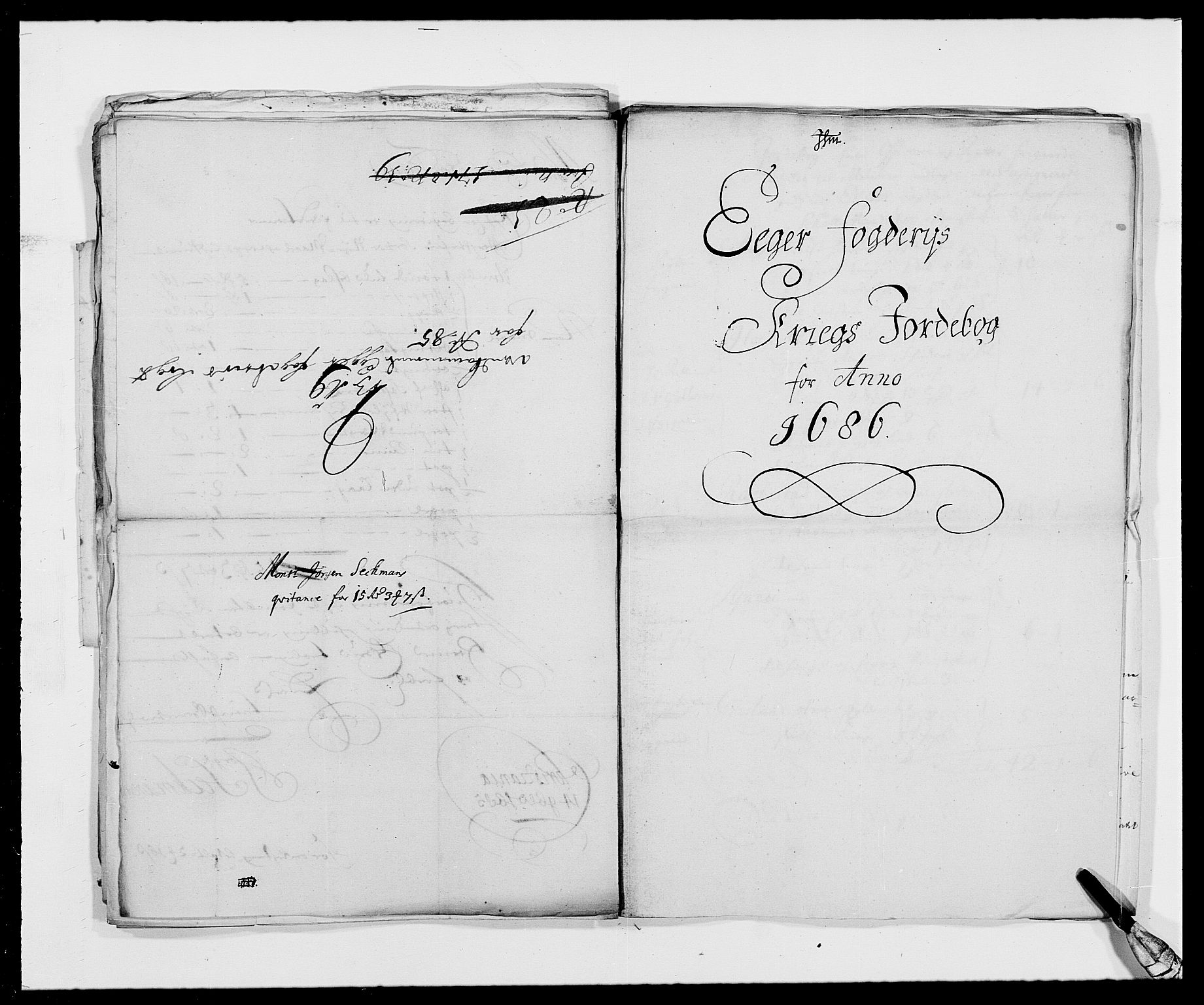 RA, Rentekammeret inntil 1814, Reviderte regnskaper, Fogderegnskap, R26/L1685: Fogderegnskap Eiker, 1679-1686, s. 286