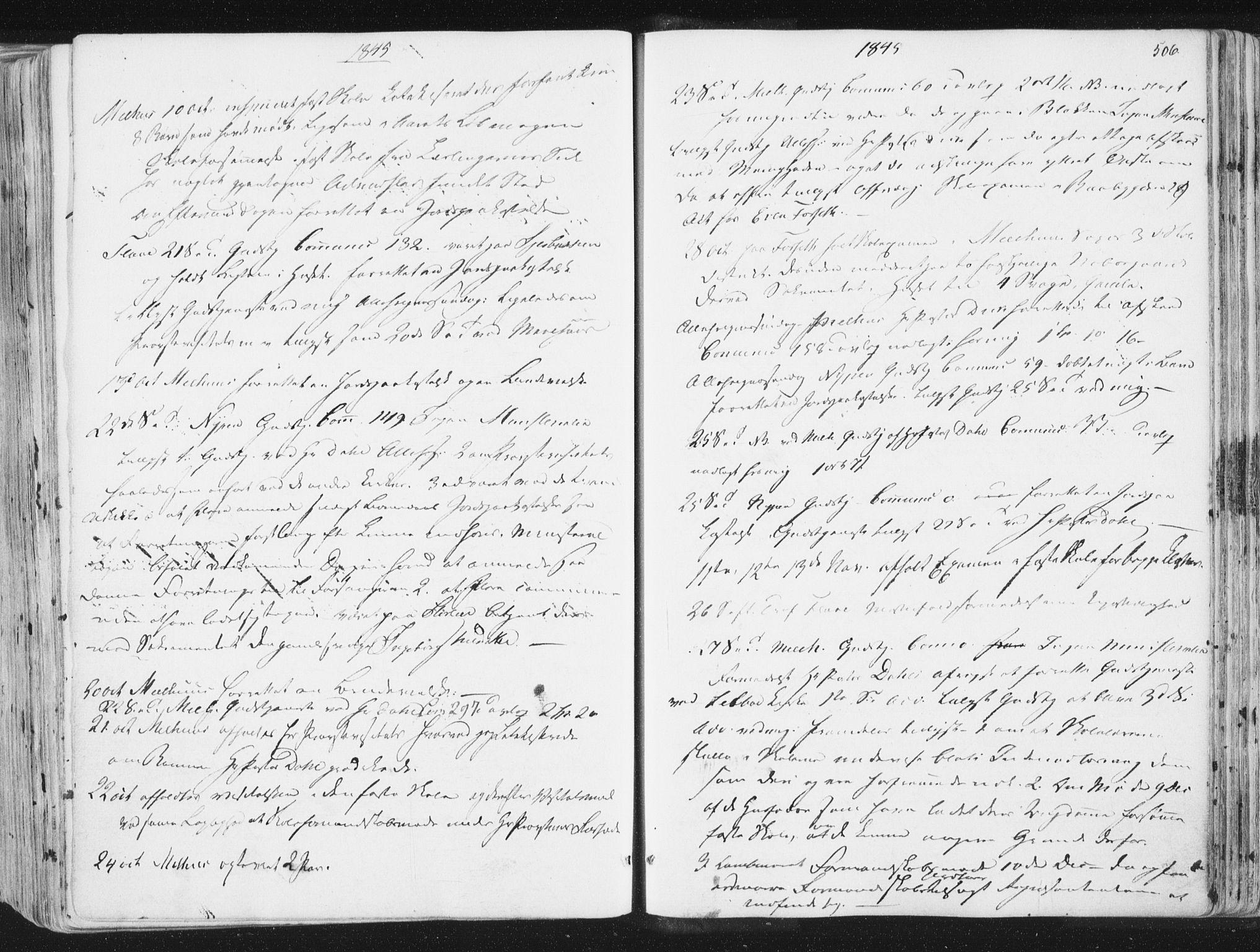 SAT, Ministerialprotokoller, klokkerbøker og fødselsregistre - Sør-Trøndelag, 691/L1074: Ministerialbok nr. 691A06, 1842-1852, s. 506