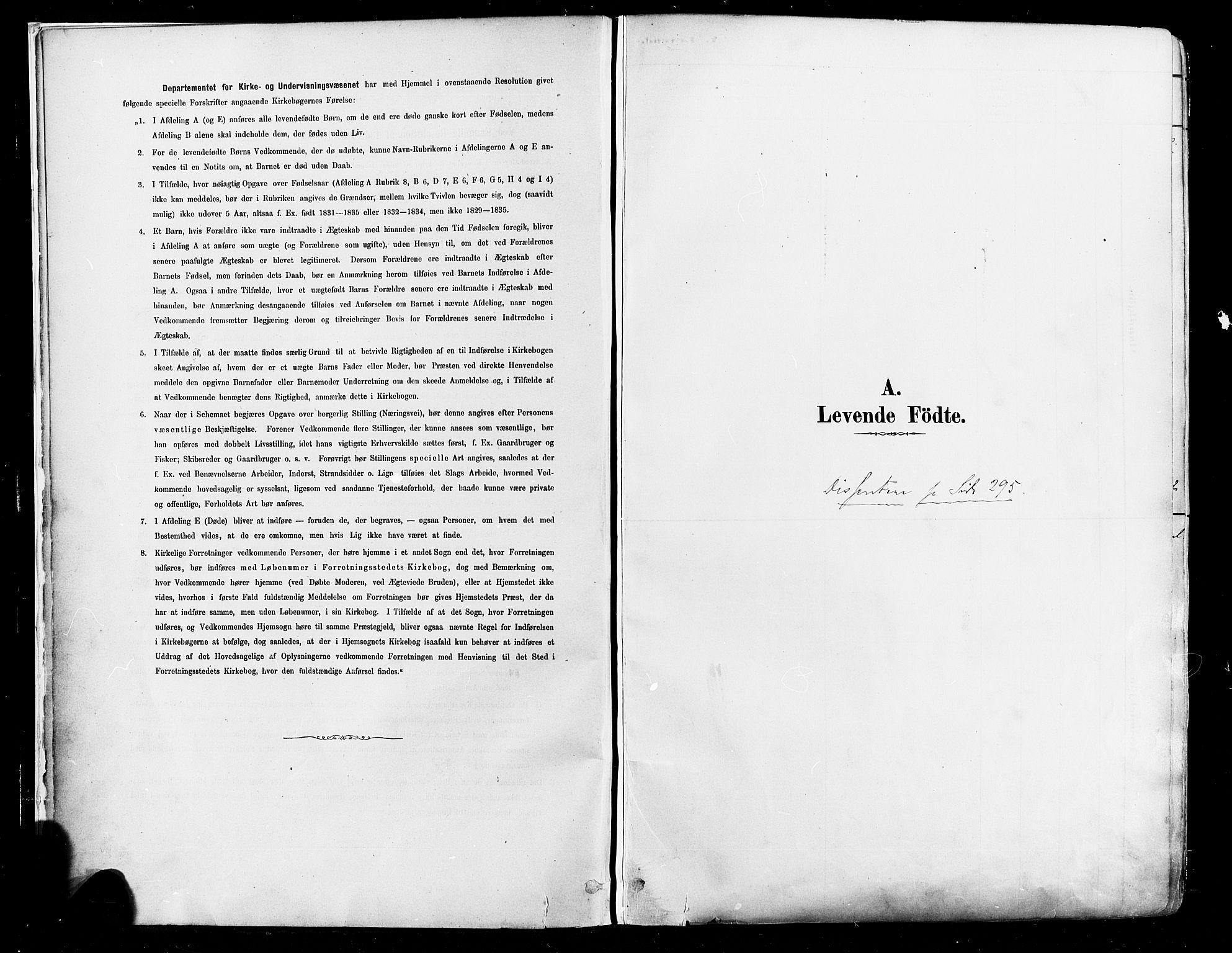 SAO, Johannes prestekontor Kirkebøker, F/Fa/L0003: Ministerialbok nr. 3, 1882-1896