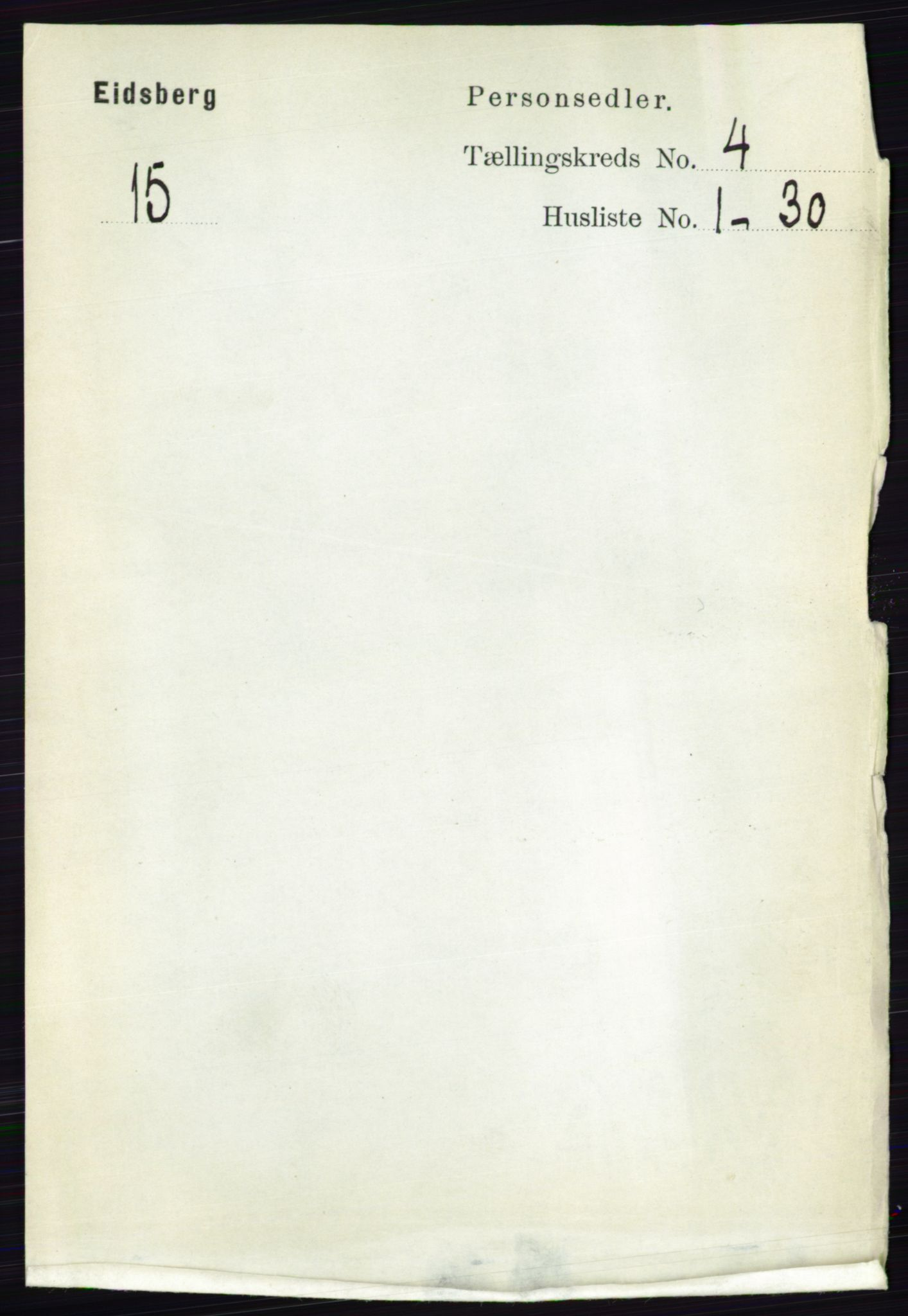 RA, Folketelling 1891 for 0125 Eidsberg herred, 1891, s. 2370