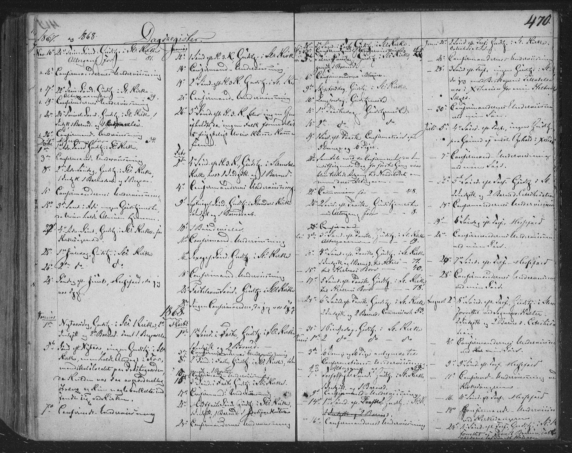 SAKO, Siljan kirkebøker, F/Fa/L0001: Ministerialbok nr. 1, 1831-1870, s. 470
