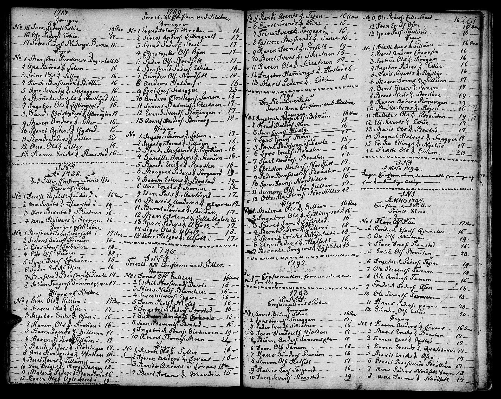 SAT, Ministerialprotokoller, klokkerbøker og fødselsregistre - Sør-Trøndelag, 618/L0438: Ministerialbok nr. 618A03, 1783-1815, s. 291