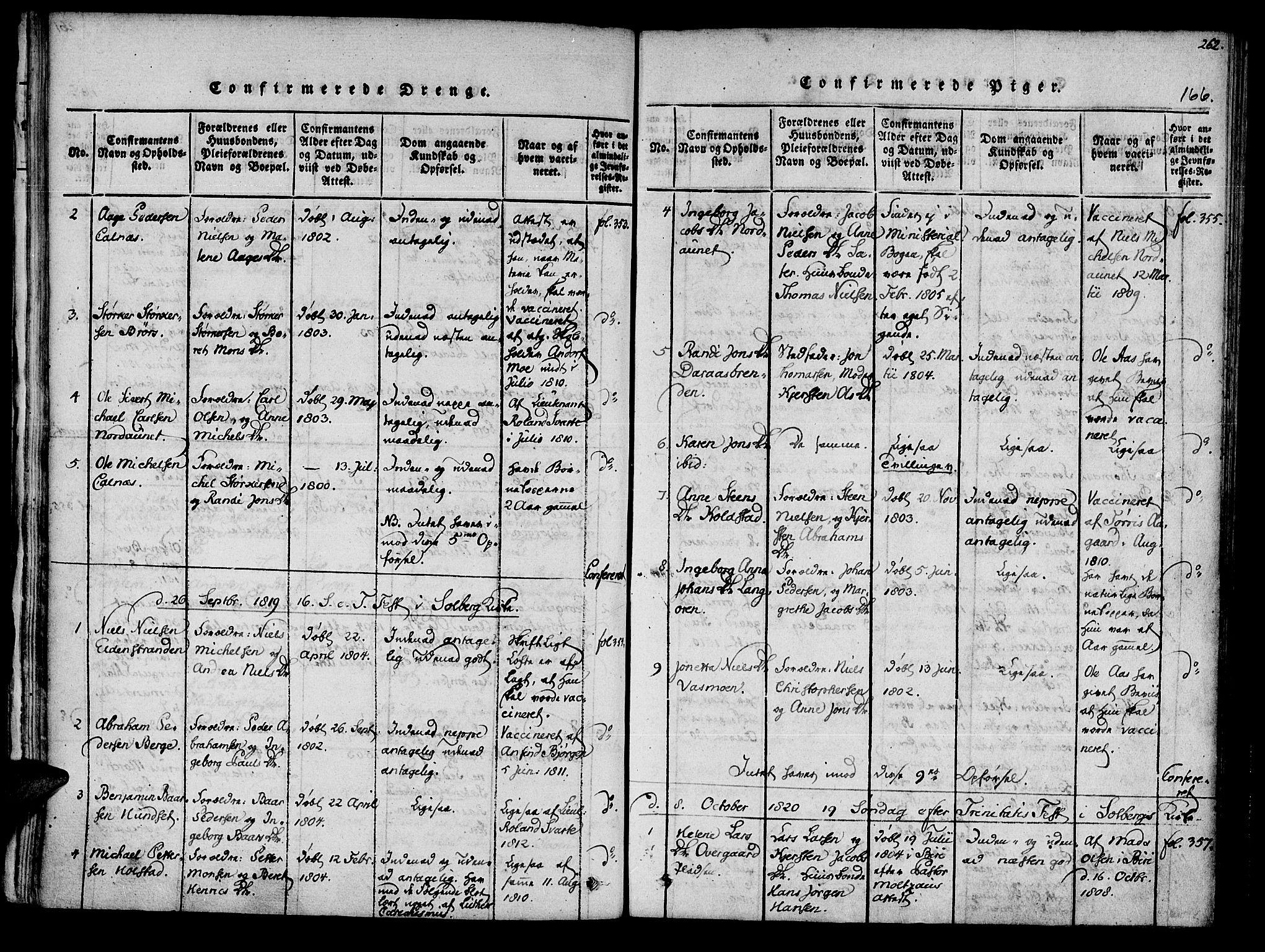 SAT, Ministerialprotokoller, klokkerbøker og fødselsregistre - Nord-Trøndelag, 741/L0387: Ministerialbok nr. 741A03 /3, 1817-1822, s. 166