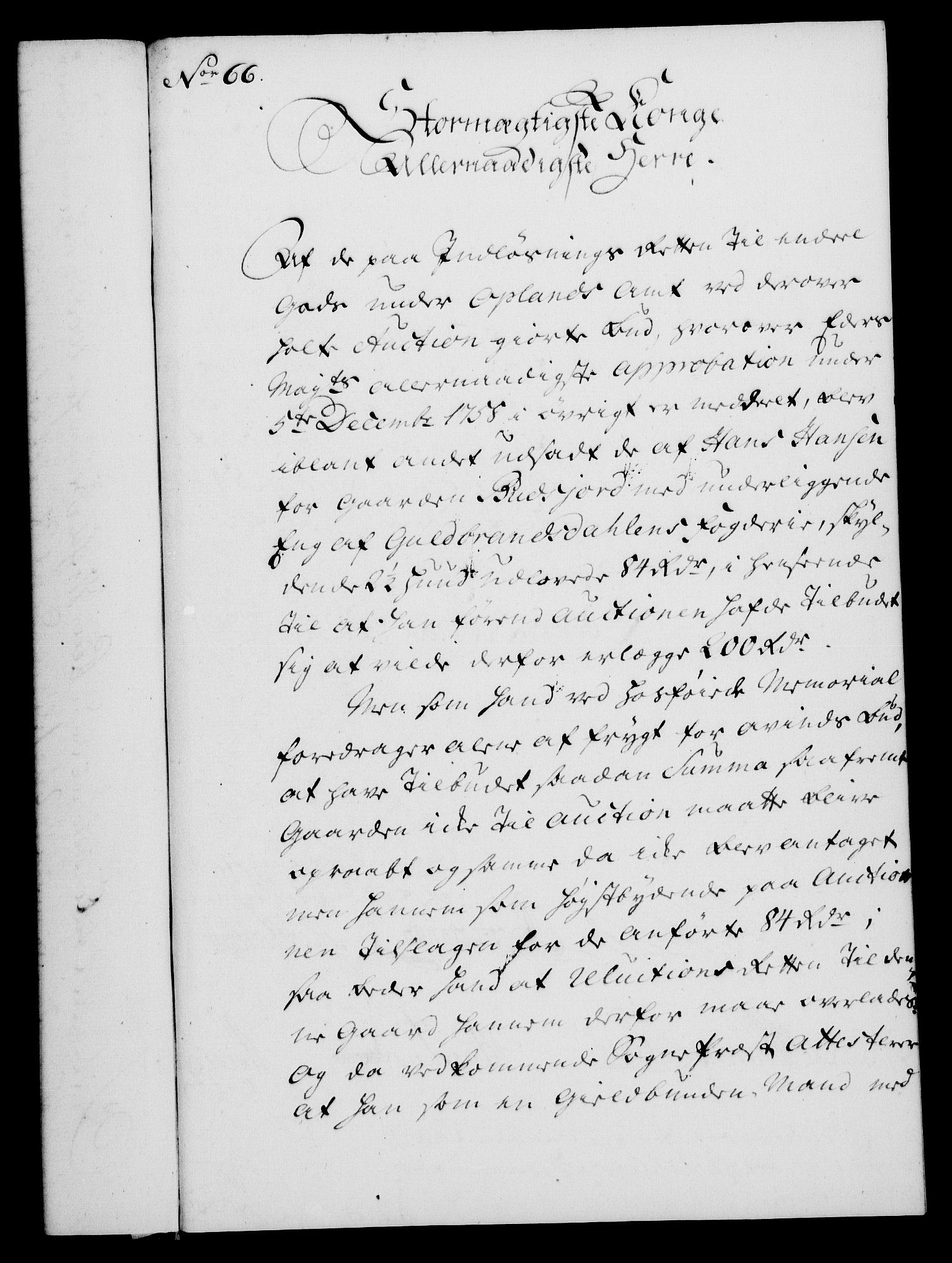 RA, Rentekammeret, Kammerkanselliet, G/Gf/Gfa/L0043: Norsk relasjons- og resolusjonsprotokoll (merket RK 52.43), 1761, s. 257