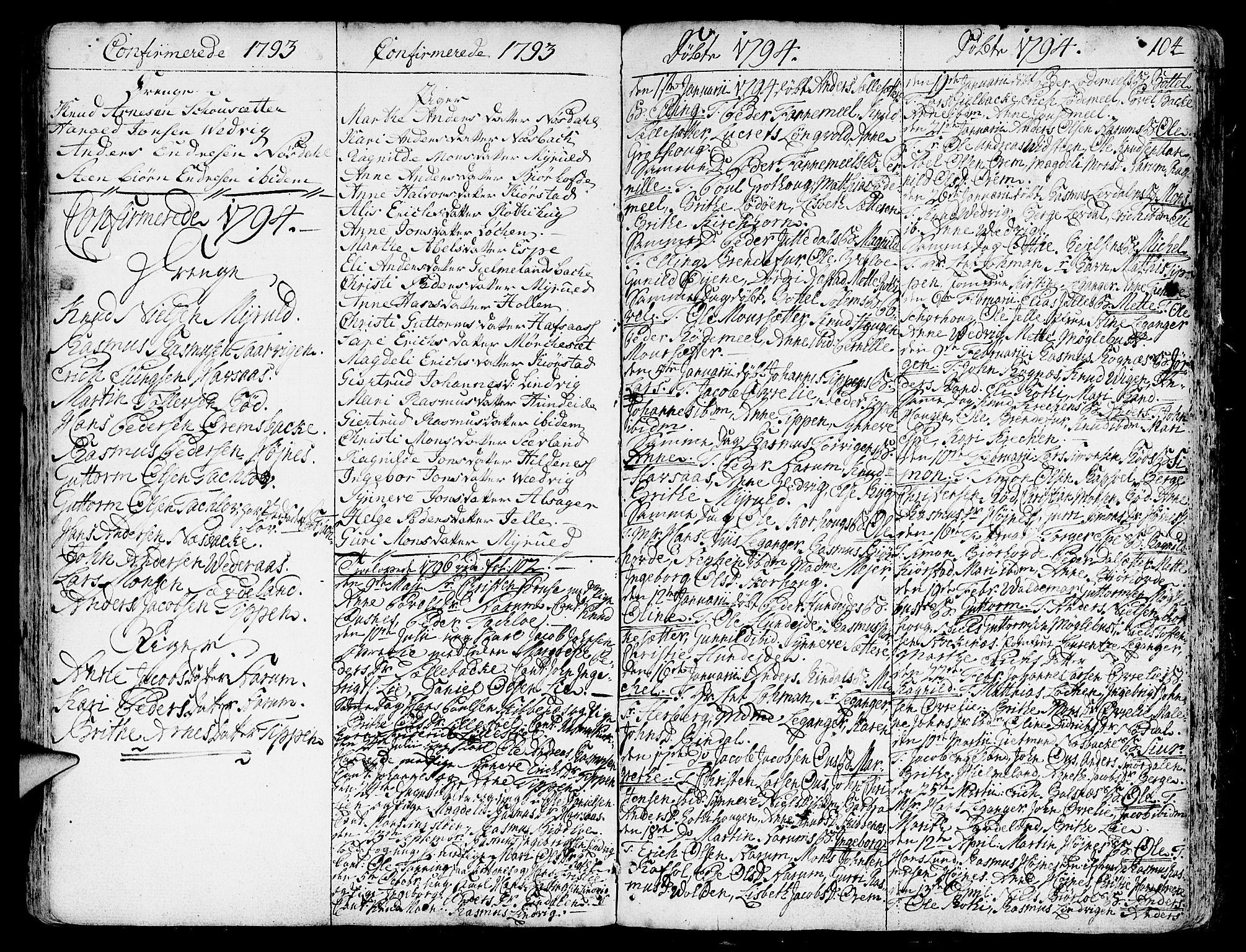 SAB, Eid Sokneprestembete, H/Haa: Ministerialbok nr. A 3, 1770-1805, s. 104