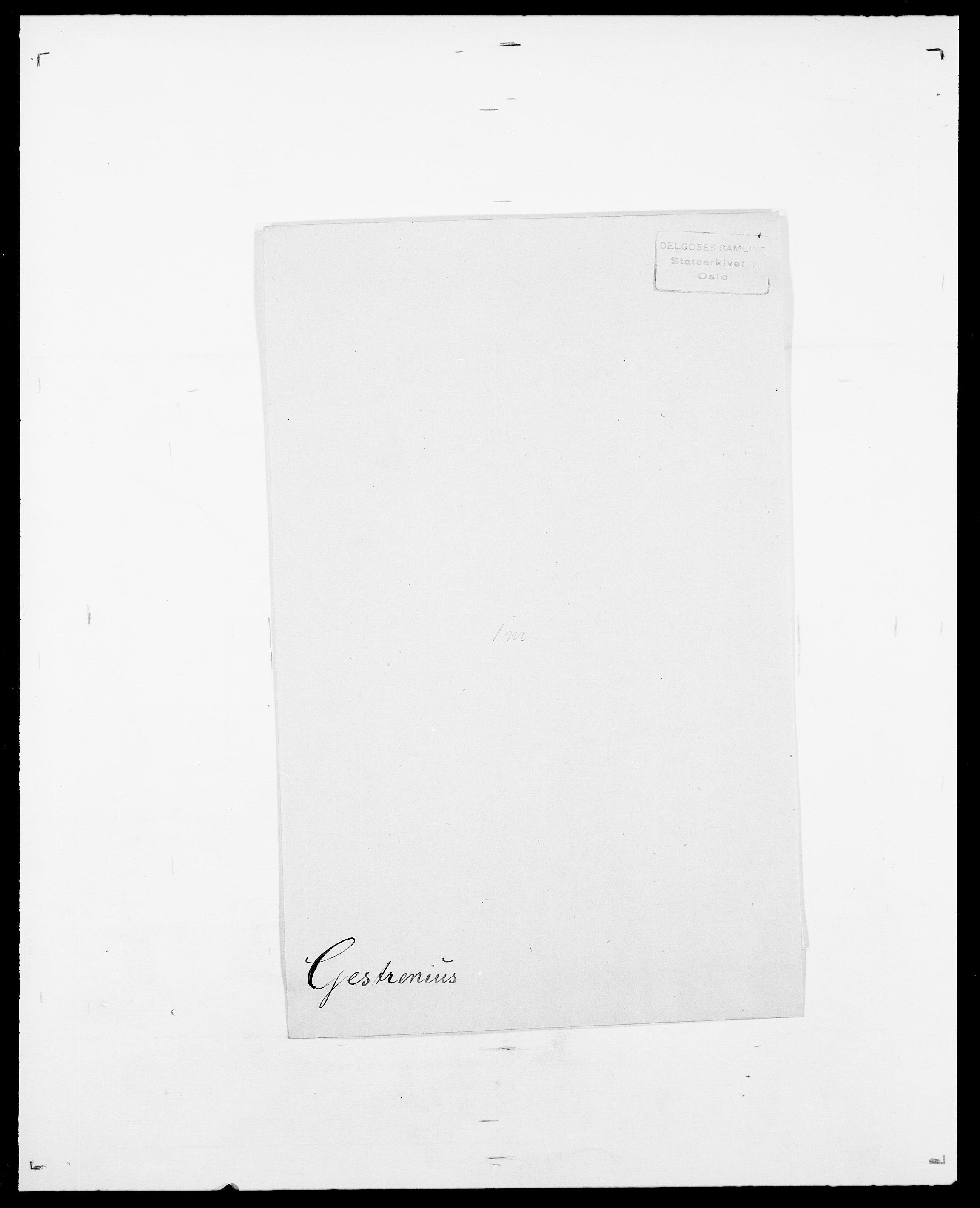 SAO, Delgobe, Charles Antoine - samling, D/Da/L0013: Forbos - Geving, s. 651