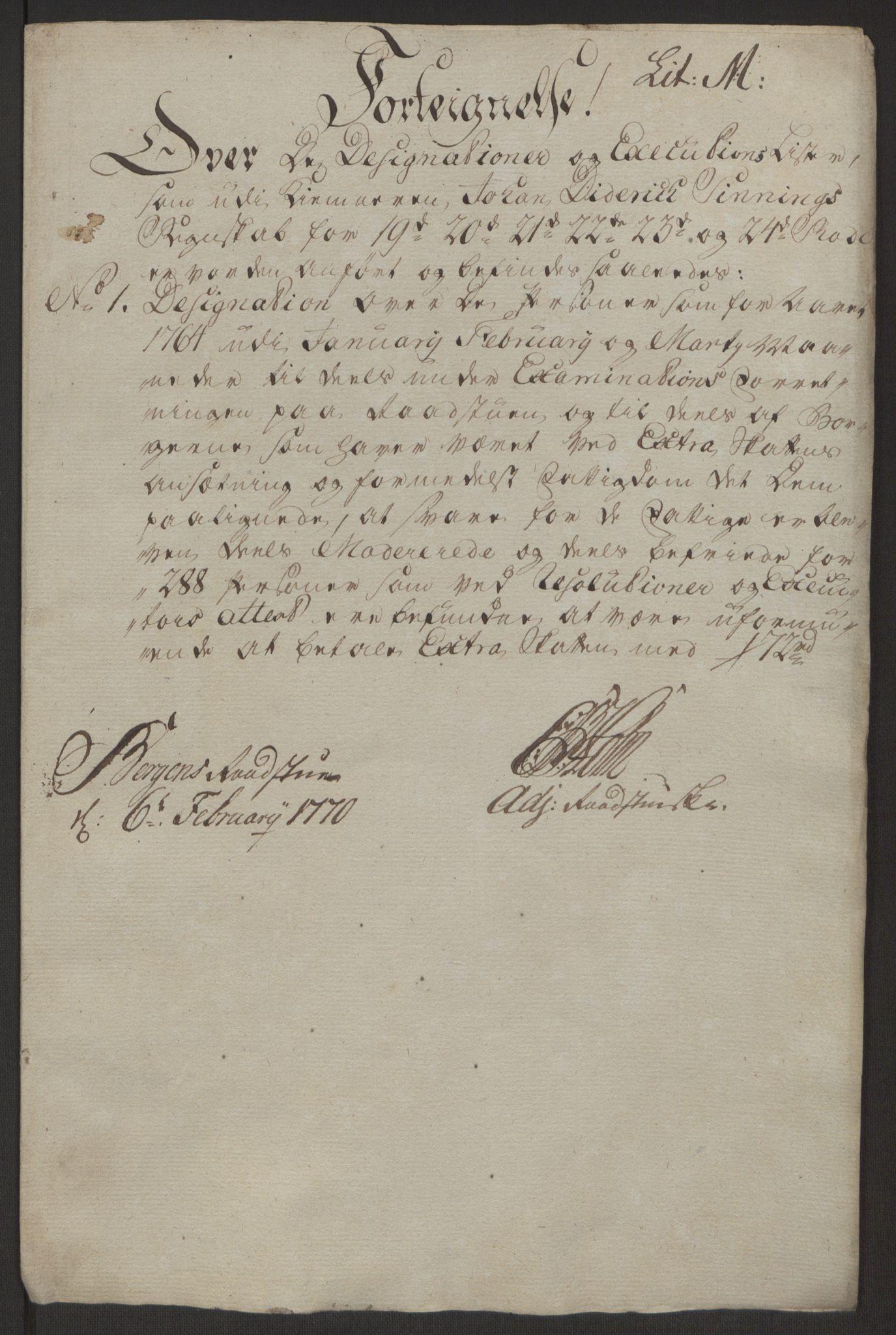 RA, Rentekammeret inntil 1814, Reviderte regnskaper, Byregnskaper, R/Rp/L0368: [P21] Kontribusjonsregnskap, 1764, s. 198