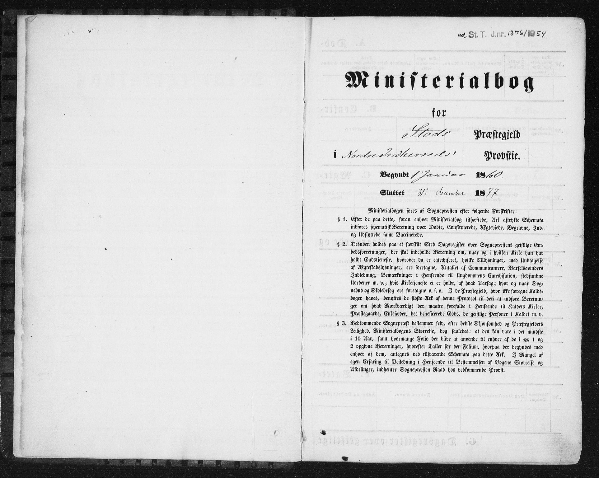 SAT, Ministerialprotokoller, klokkerbøker og fødselsregistre - Nord-Trøndelag, 746/L0447: Ministerialbok nr. 746A06, 1860-1877
