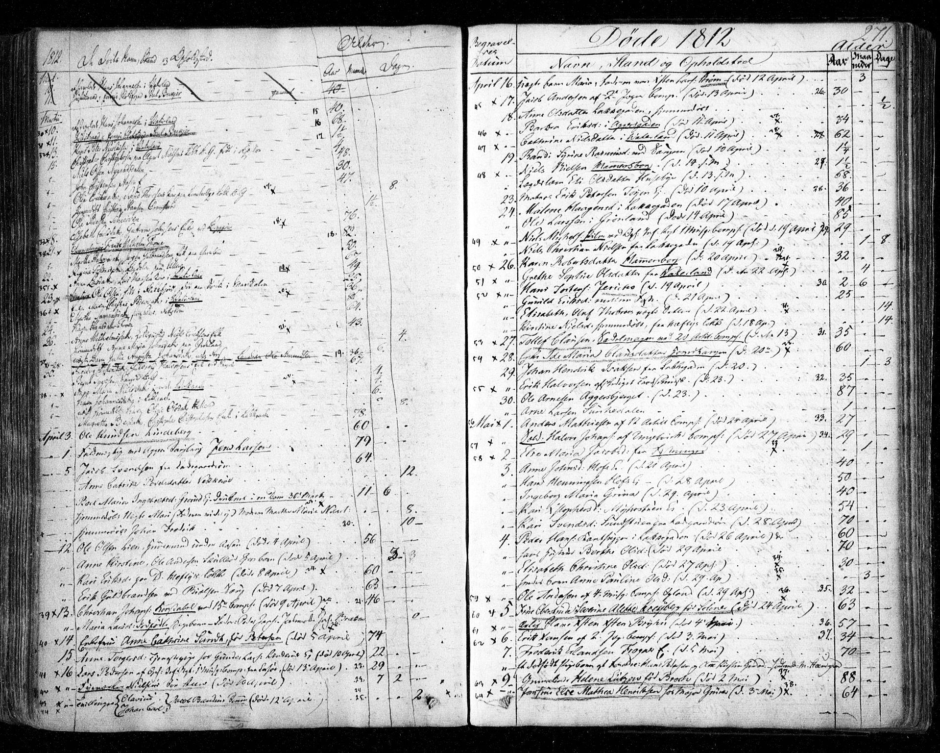 SAO, Aker prestekontor kirkebøker, F/L0011: Ministerialbok nr. 11, 1810-1819, s. 271