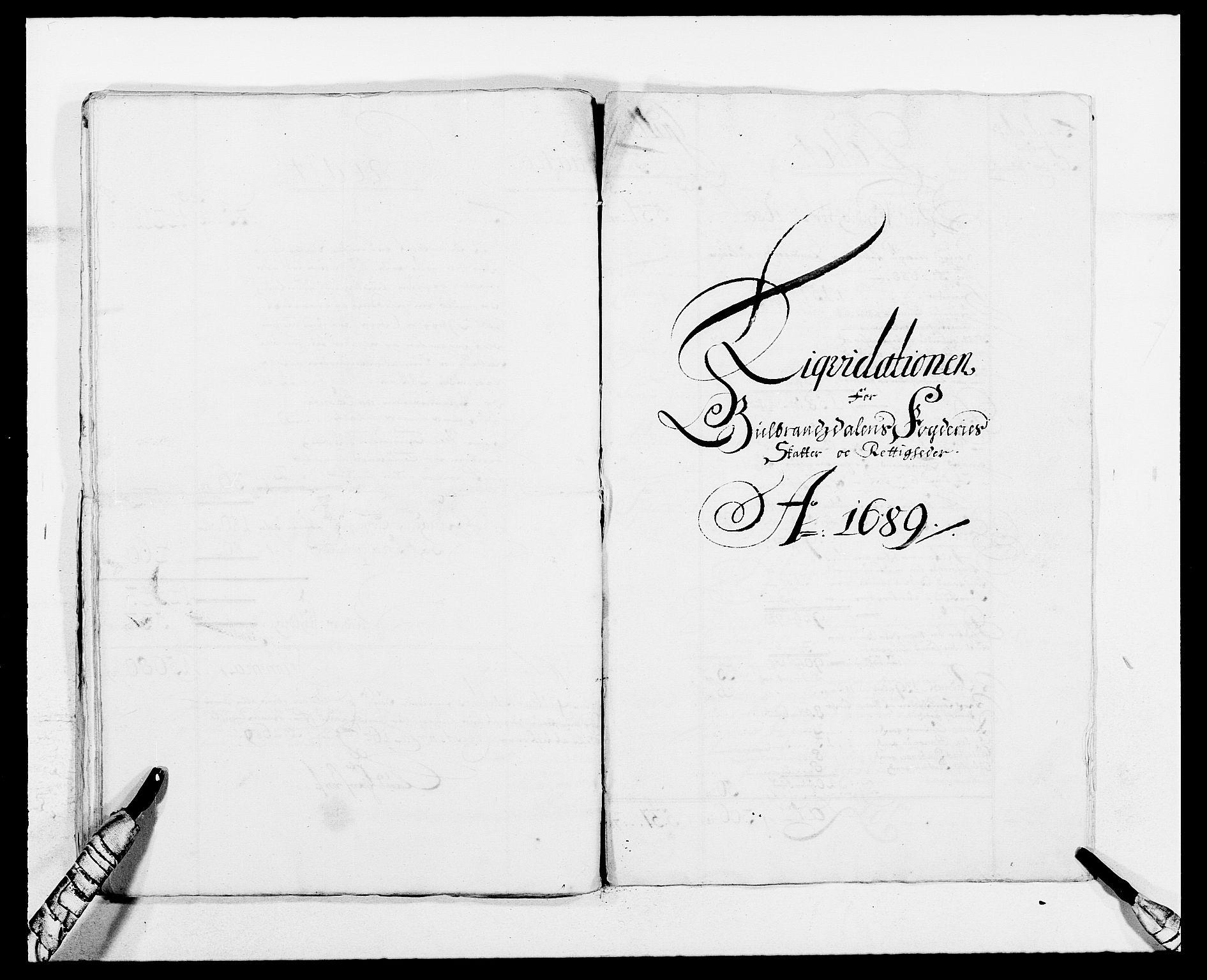 RA, Rentekammeret inntil 1814, Reviderte regnskaper, Fogderegnskap, R17/L1157: Fogderegnskap Gudbrandsdal, 1682-1689, s. 36