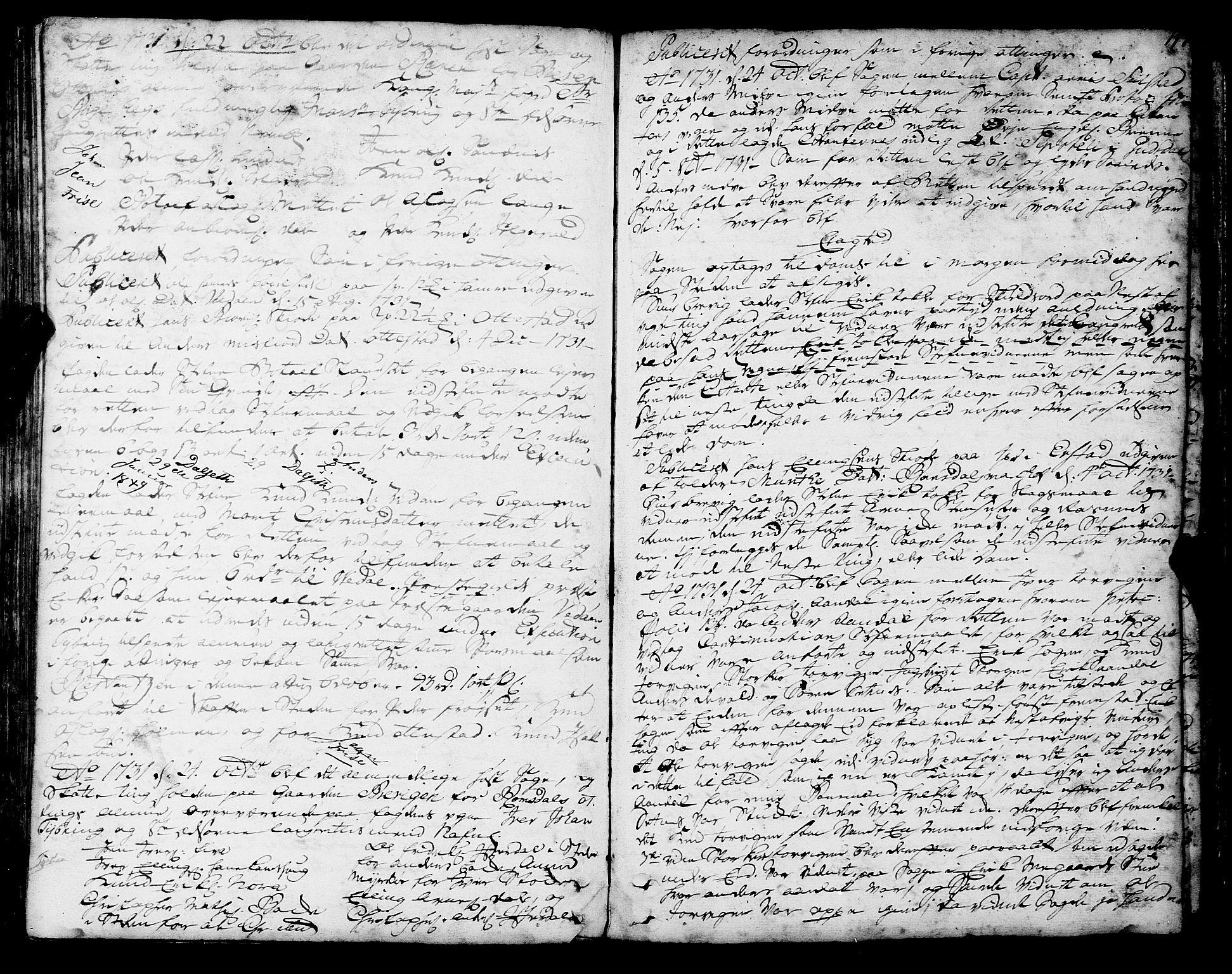 SAT, Romsdal sorenskriveri, 1/1A/L0010: Tingbok, 1728-1732, s. 147