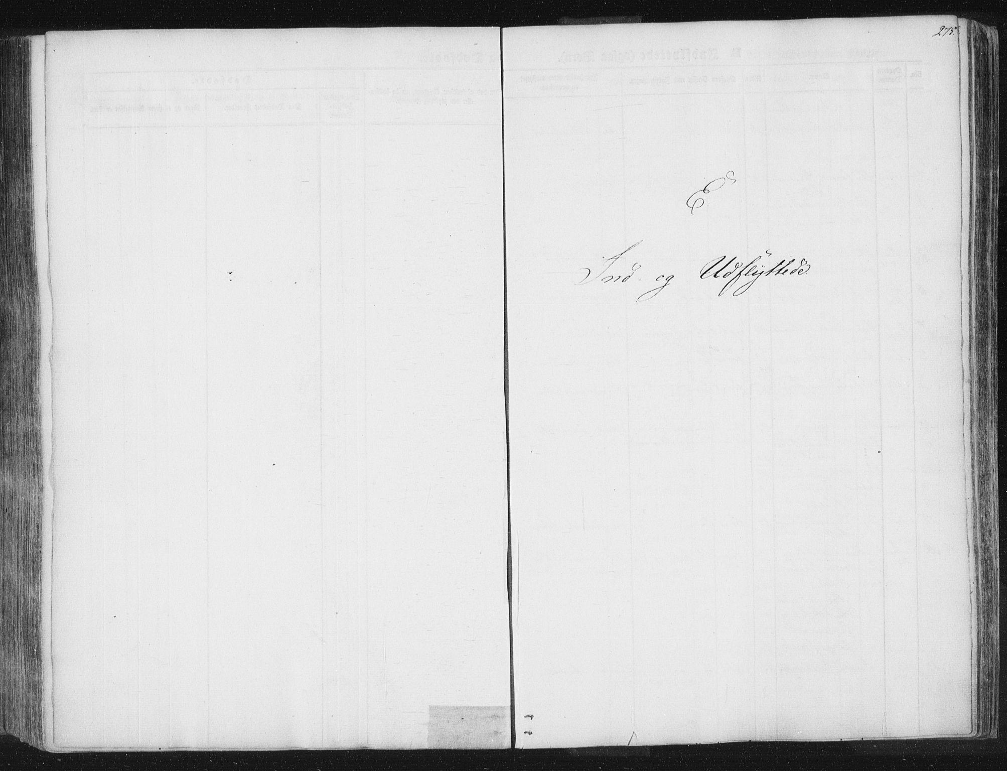 SAT, Ministerialprotokoller, klokkerbøker og fødselsregistre - Nord-Trøndelag, 741/L0392: Ministerialbok nr. 741A06, 1836-1848, s. 275