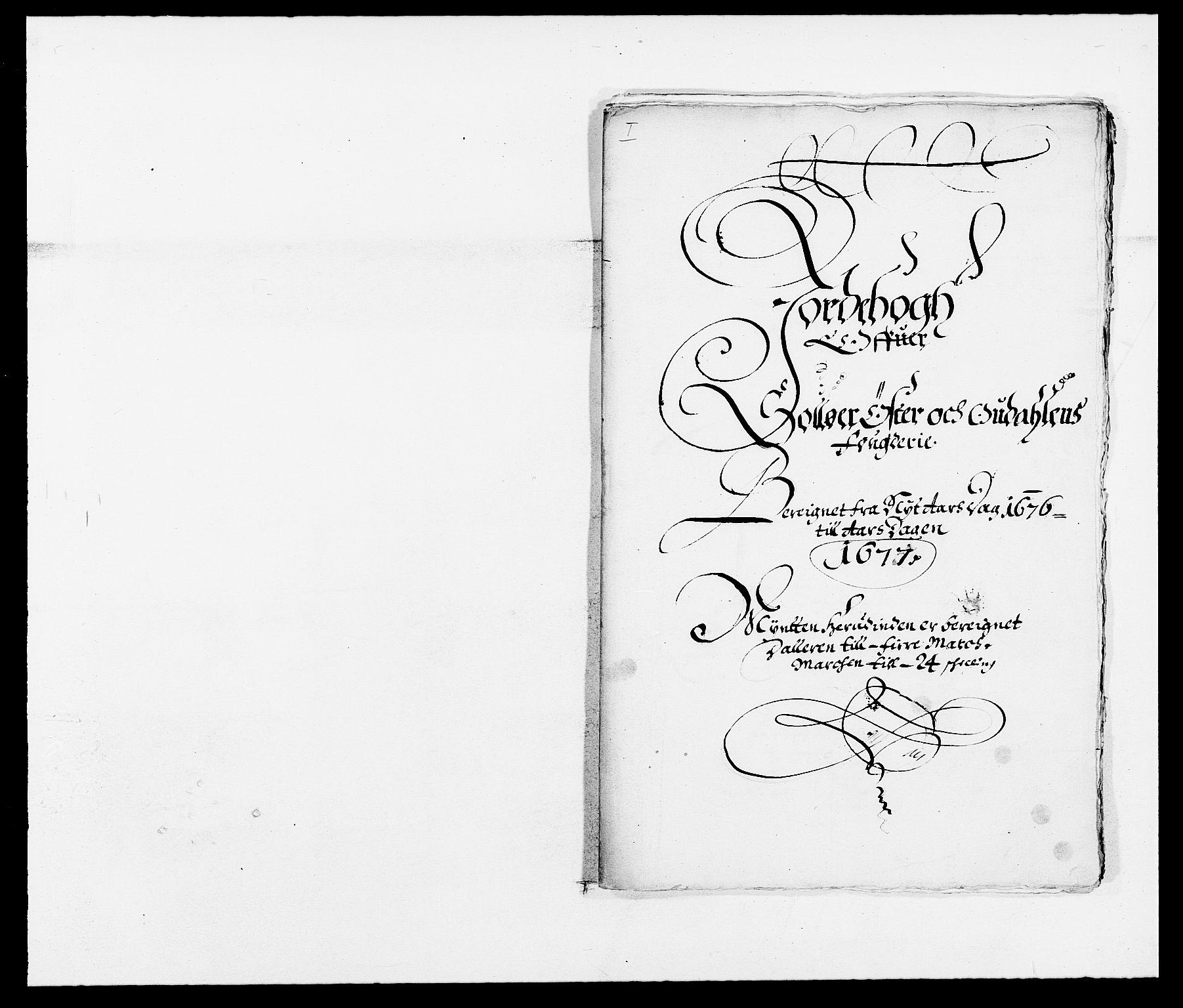 RA, Rentekammeret inntil 1814, Reviderte regnskaper, Fogderegnskap, R13/L0813: Fogderegnskap Solør, Odal og Østerdal, 1677, s. 3