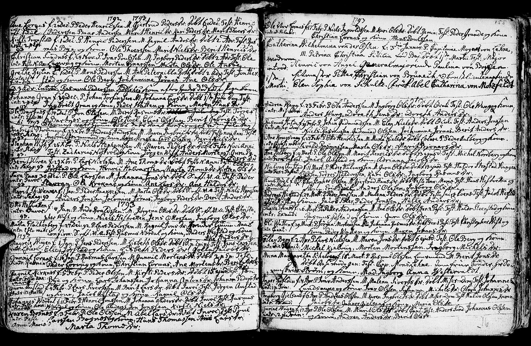 SAT, Ministerialprotokoller, klokkerbøker og fødselsregistre - Nord-Trøndelag, 730/L0273: Ministerialbok nr. 730A02, 1762-1802, s. 155