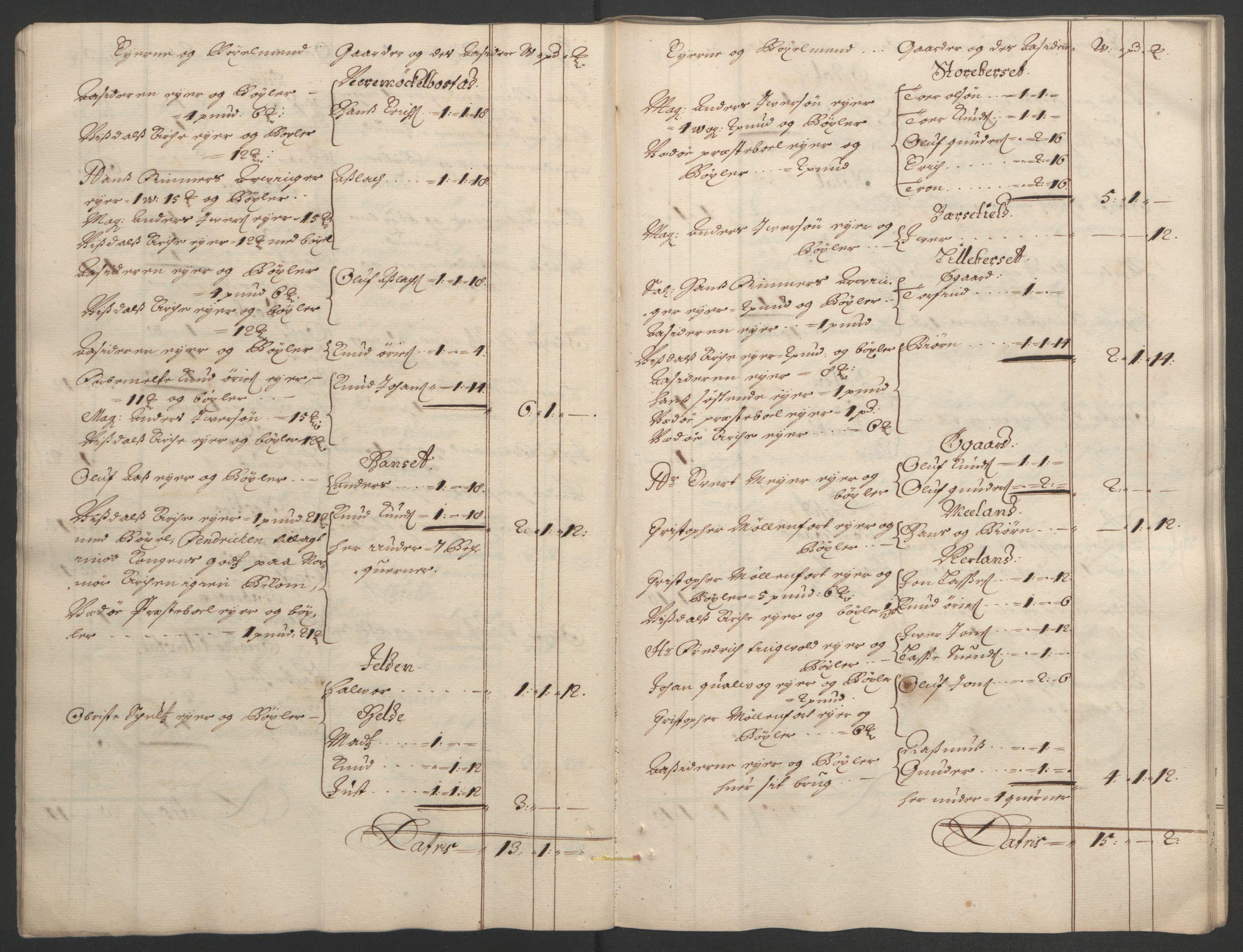 RA, Rentekammeret inntil 1814, Reviderte regnskaper, Fogderegnskap, R55/L3651: Fogderegnskap Romsdal, 1693-1694, s. 25