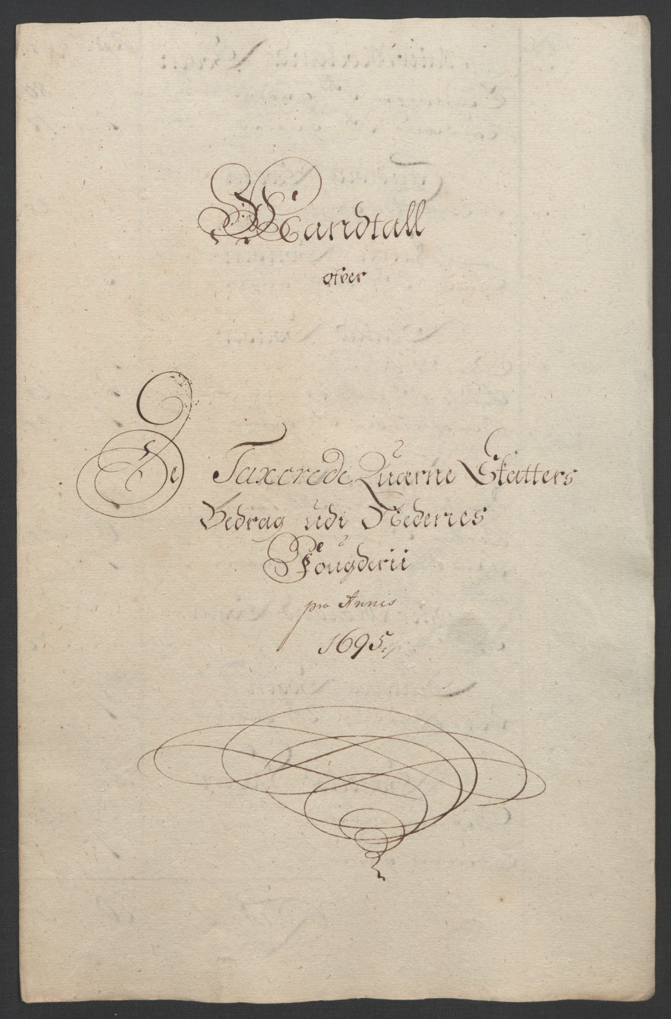 RA, Rentekammeret inntil 1814, Reviderte regnskaper, Fogderegnskap, R39/L2312: Fogderegnskap Nedenes, 1693-1695, s. 257