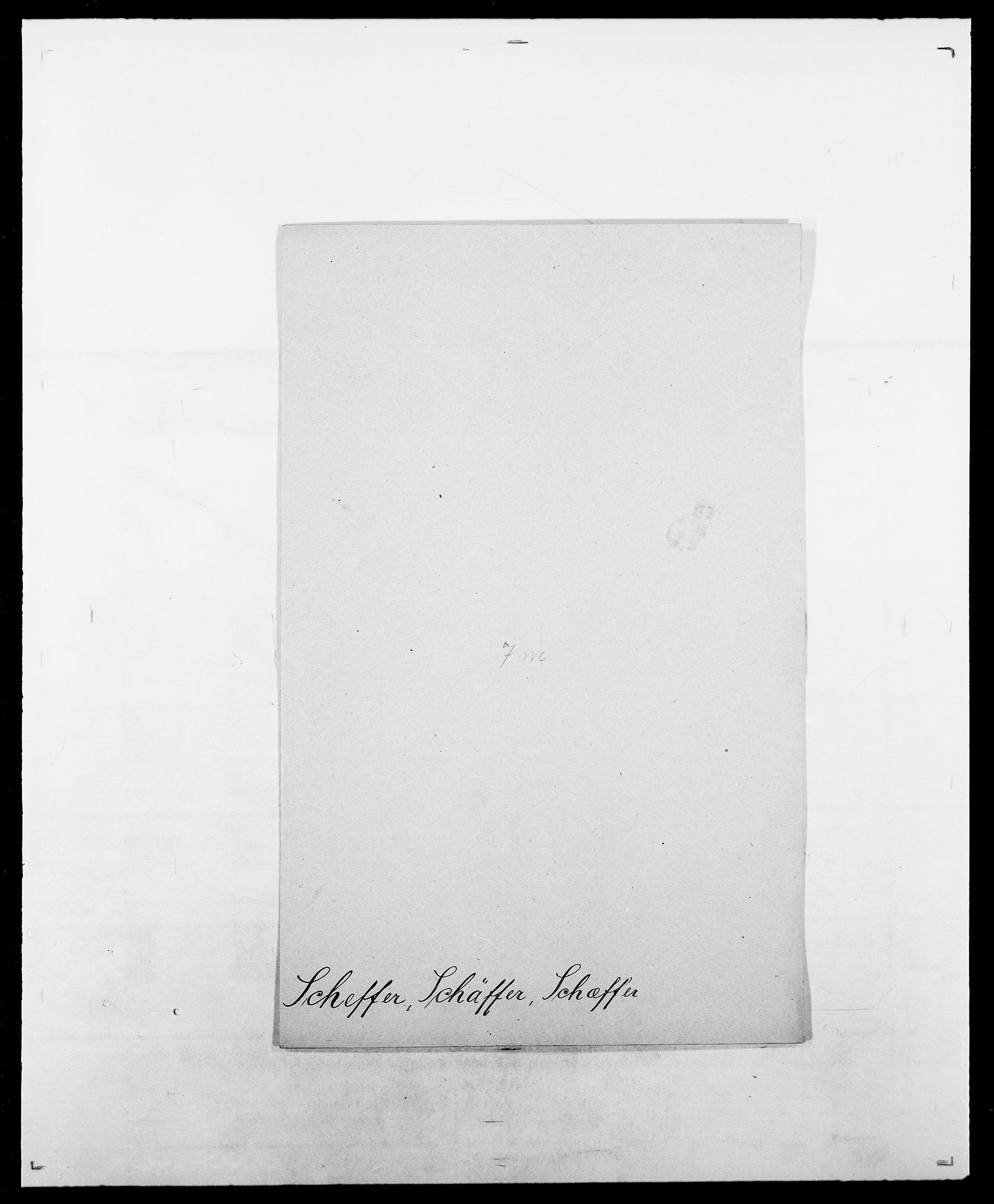SAO, Delgobe, Charles Antoine - samling, D/Da/L0034: Saabye - Schmincke, s. 452