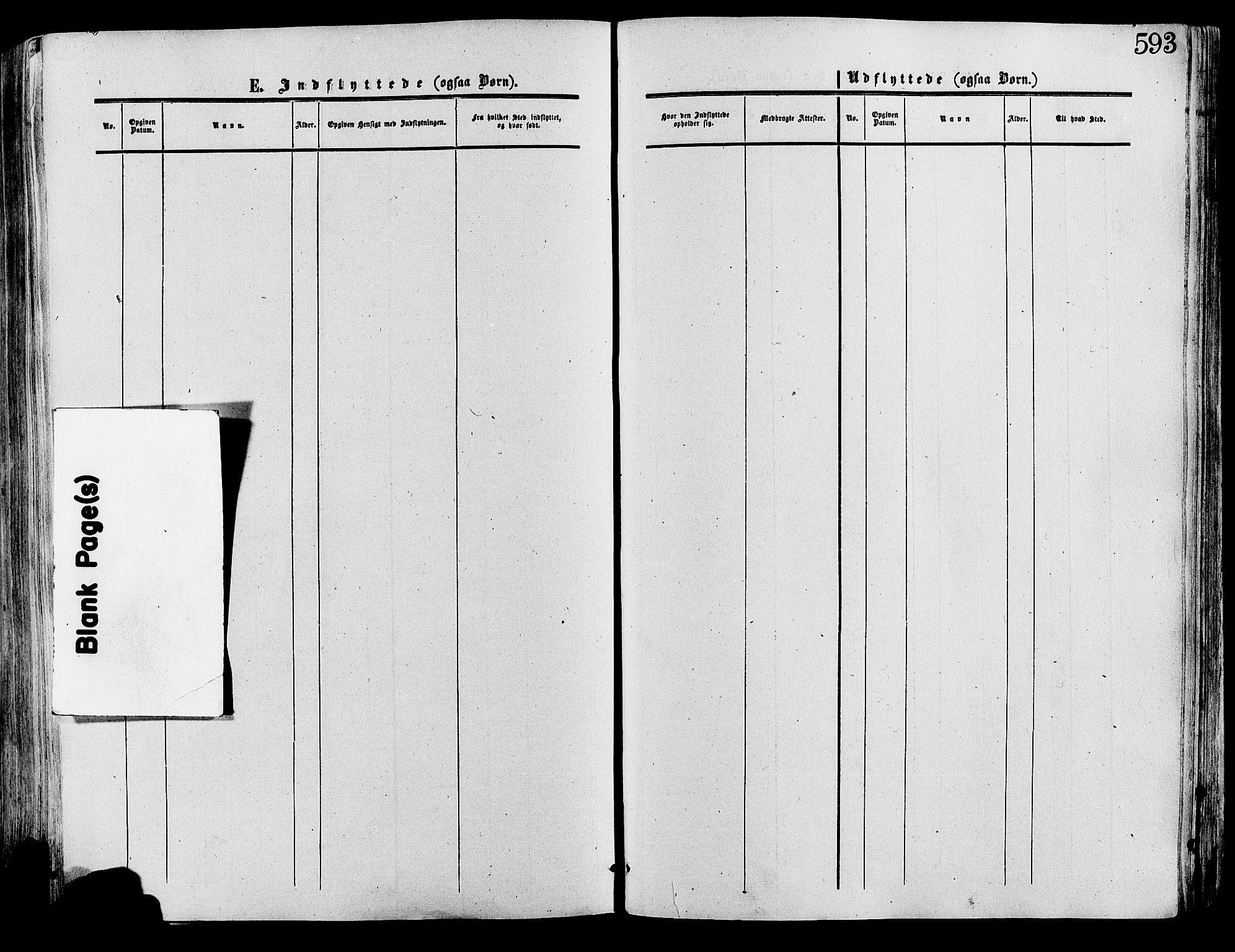 SAH, Lesja prestekontor, Ministerialbok nr. 8, 1854-1880, s. 593