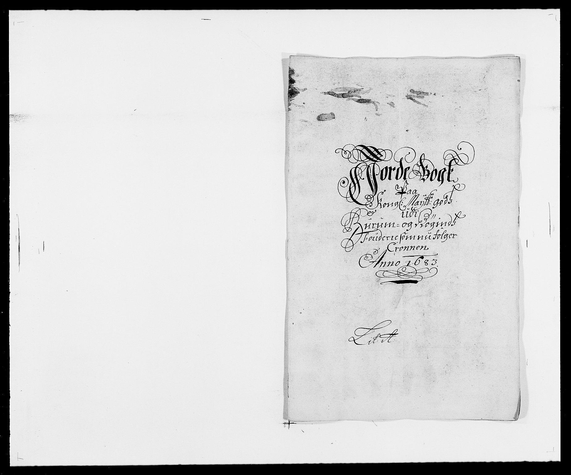RA, Rentekammeret inntil 1814, Reviderte regnskaper, Fogderegnskap, R29/L1692: Fogderegnskap Hurum og Røyken, 1682-1687, s. 114