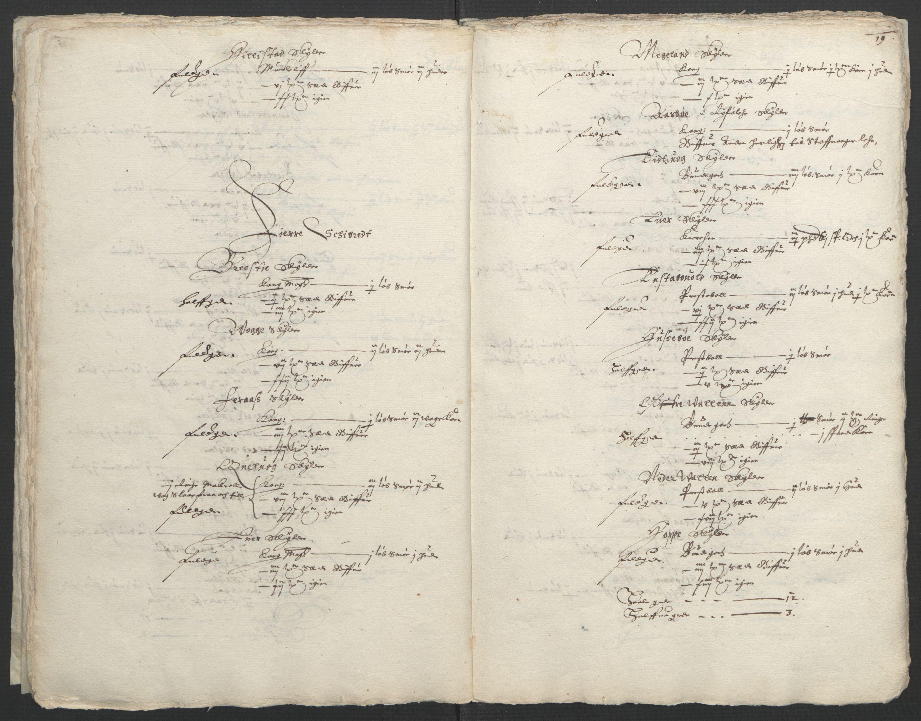 RA, Stattholderembetet 1572-1771, Ek/L0004: Jordebøker til utlikning av garnisonsskatt 1624-1626:, 1626, s. 23