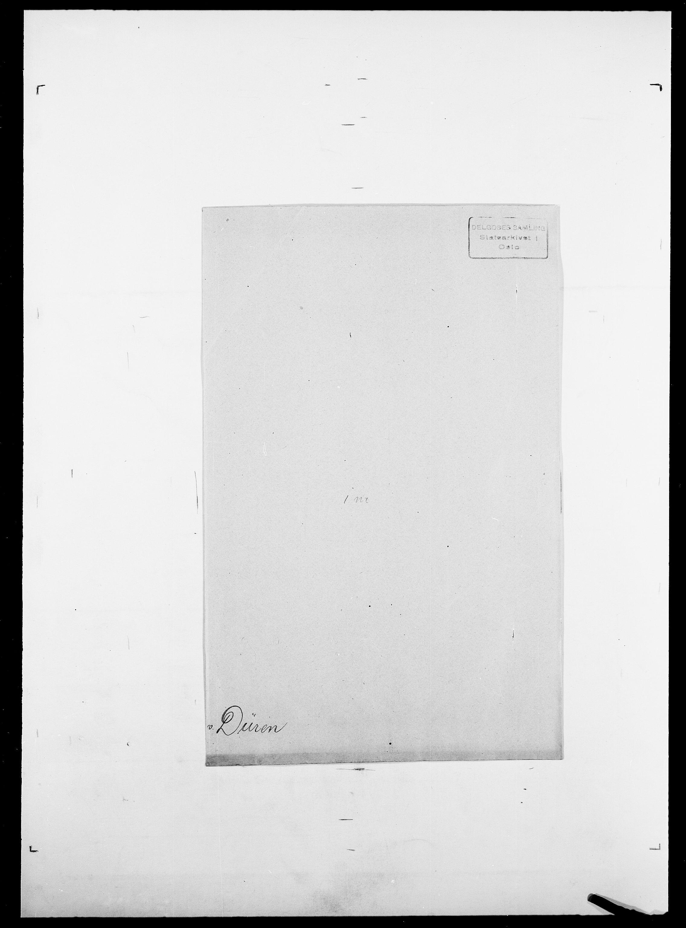 SAO, Delgobe, Charles Antoine - samling, D/Da/L0009: Dahl - v. Düren, s. 908
