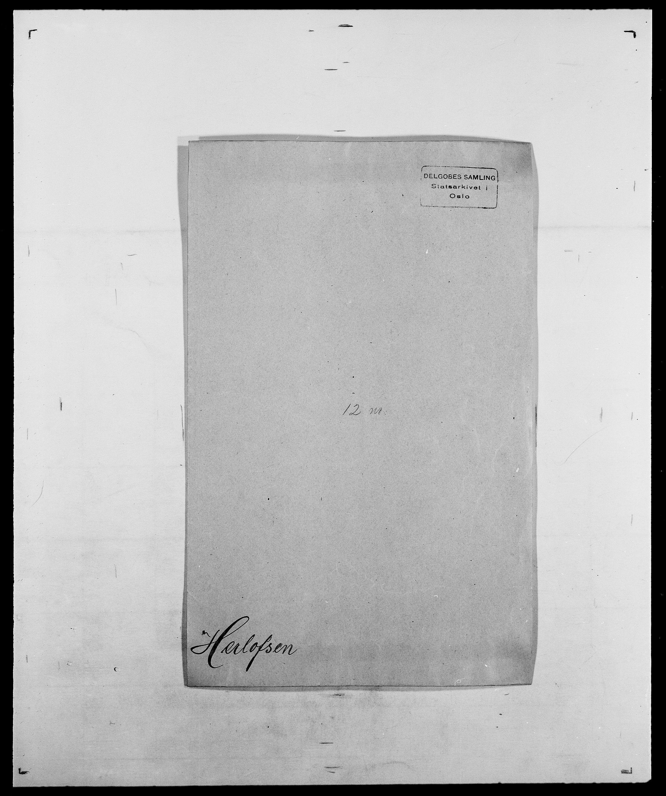 SAO, Delgobe, Charles Antoine - samling, D/Da/L0017: Helander - Hjørne, s. 242
