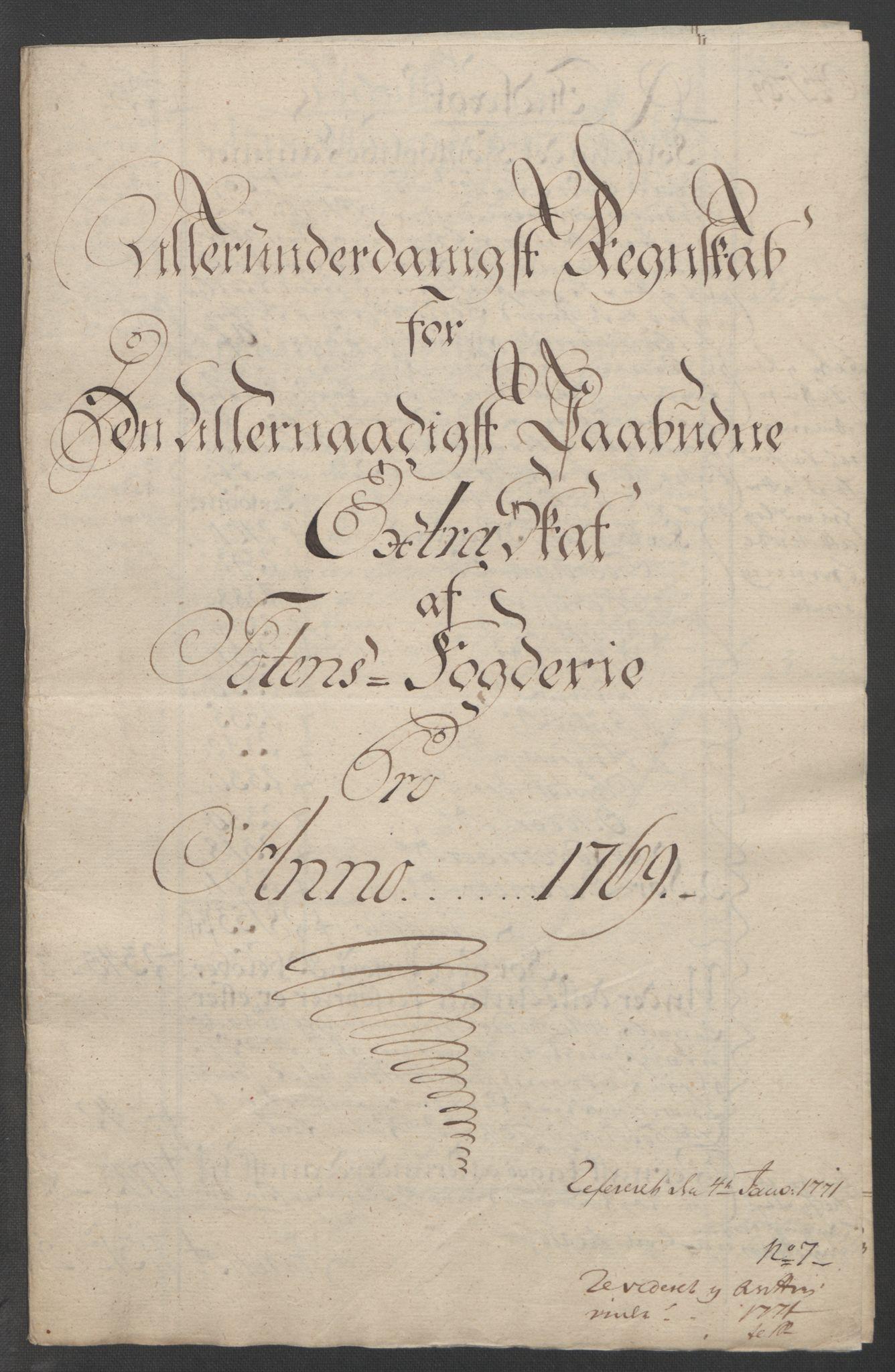 RA, Rentekammeret inntil 1814, Reviderte regnskaper, Fogderegnskap, R19/L1399: Fogderegnskap Toten, Hadeland og Vardal, 1762-1783, s. 185