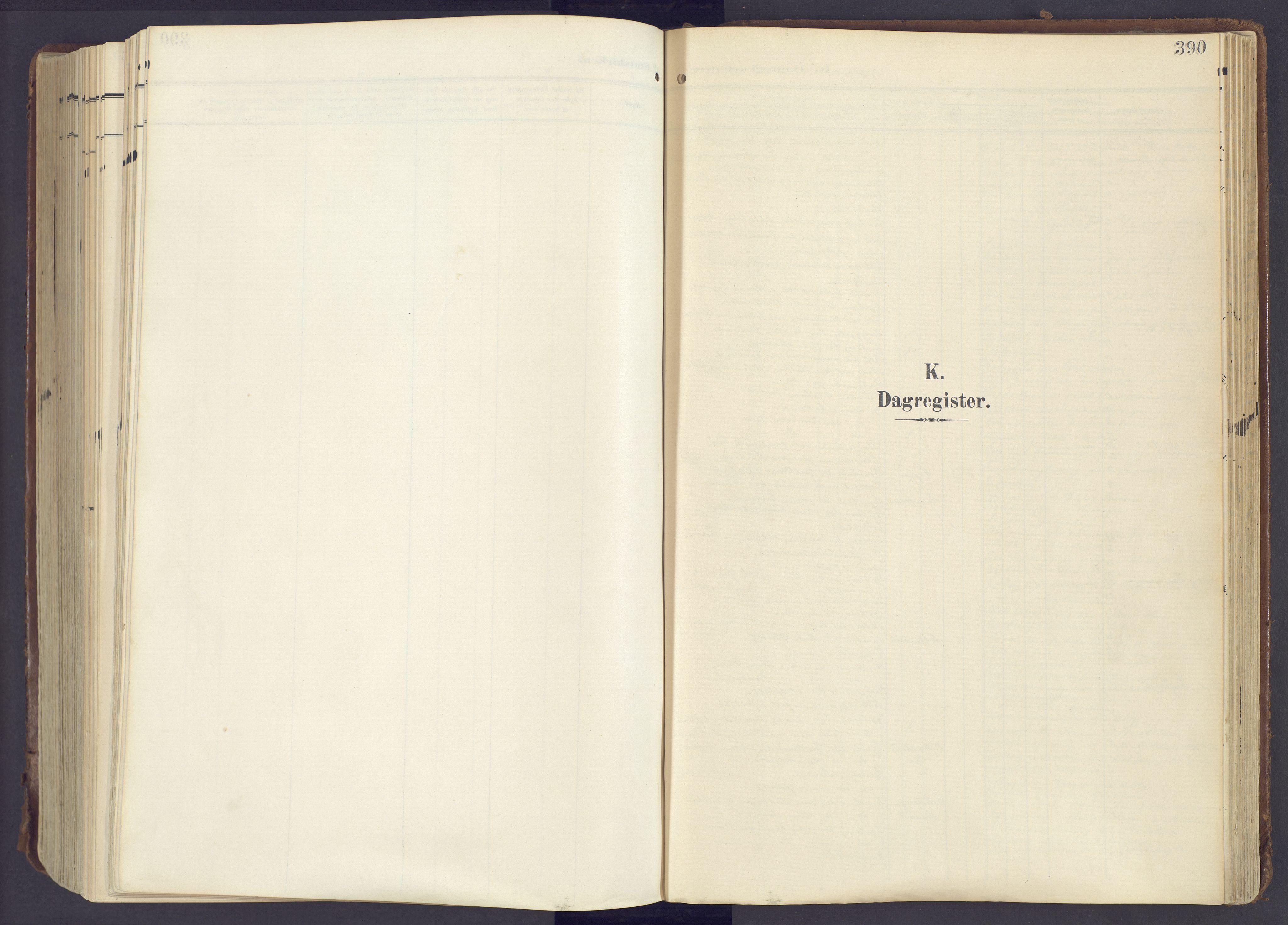SAH, Lunner prestekontor, H/Ha/Haa/L0001: Ministerialbok nr. 1, 1907-1922, s. 390