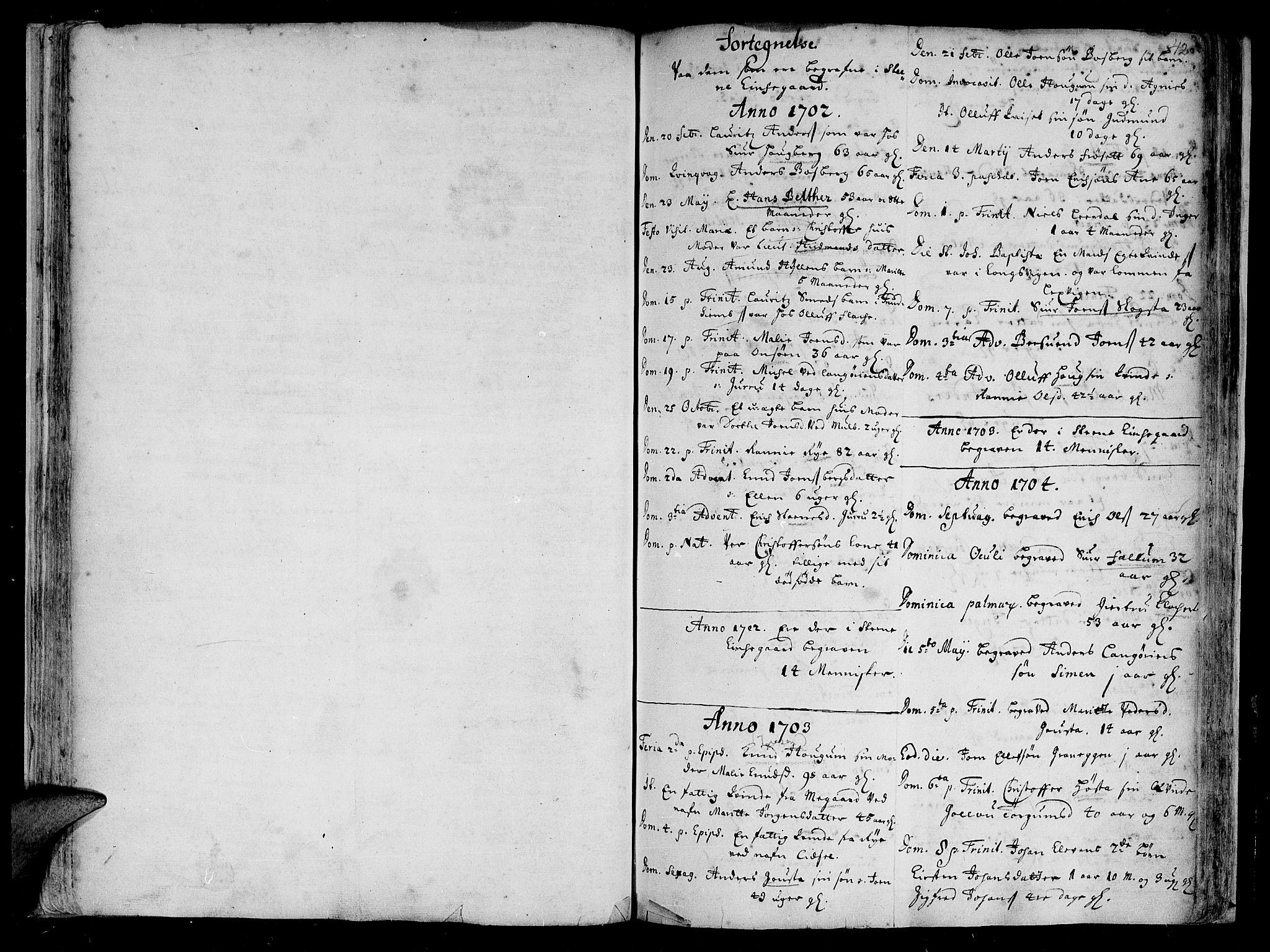 SAT, Ministerialprotokoller, klokkerbøker og fødselsregistre - Sør-Trøndelag, 612/L0368: Ministerialbok nr. 612A02, 1702-1753, s. 42