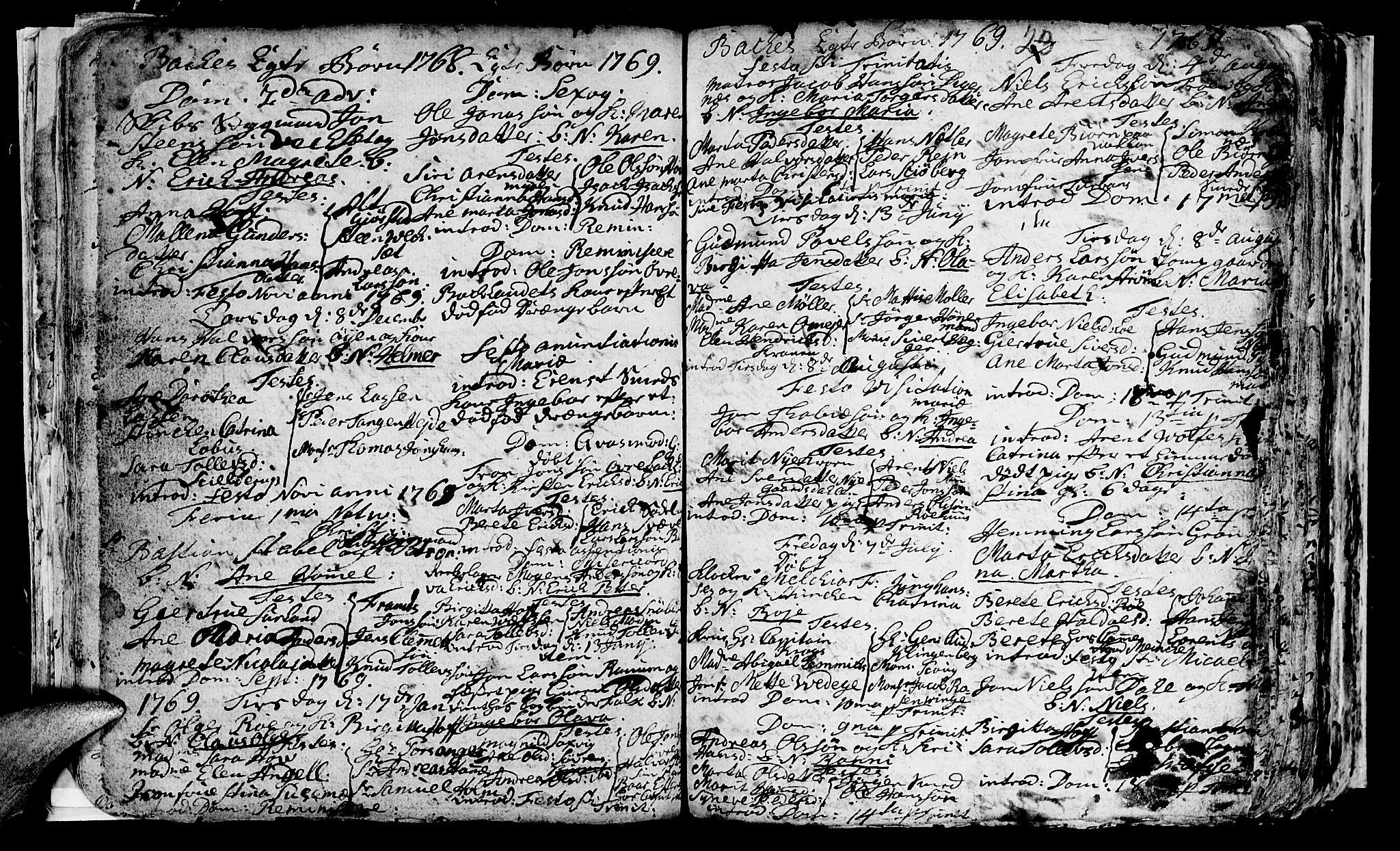 SAT, Ministerialprotokoller, klokkerbøker og fødselsregistre - Sør-Trøndelag, 604/L0218: Klokkerbok nr. 604C01, 1754-1819, s. 23