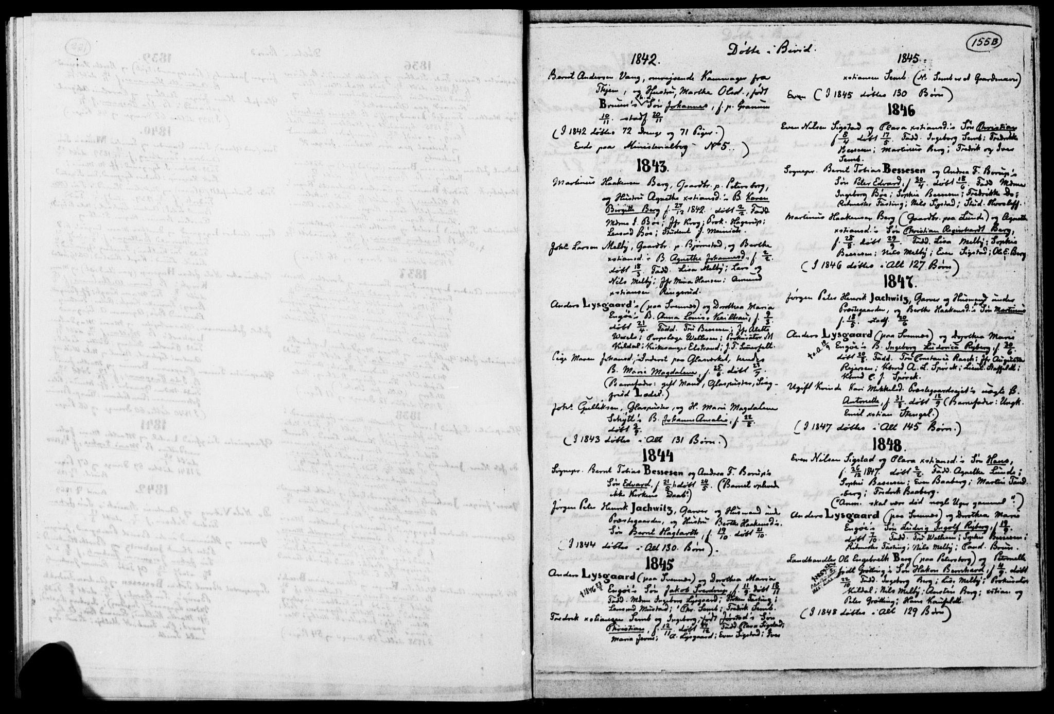 SAH, Biri prestekontor, Ministerialbok, 1730-1879, s. 155b