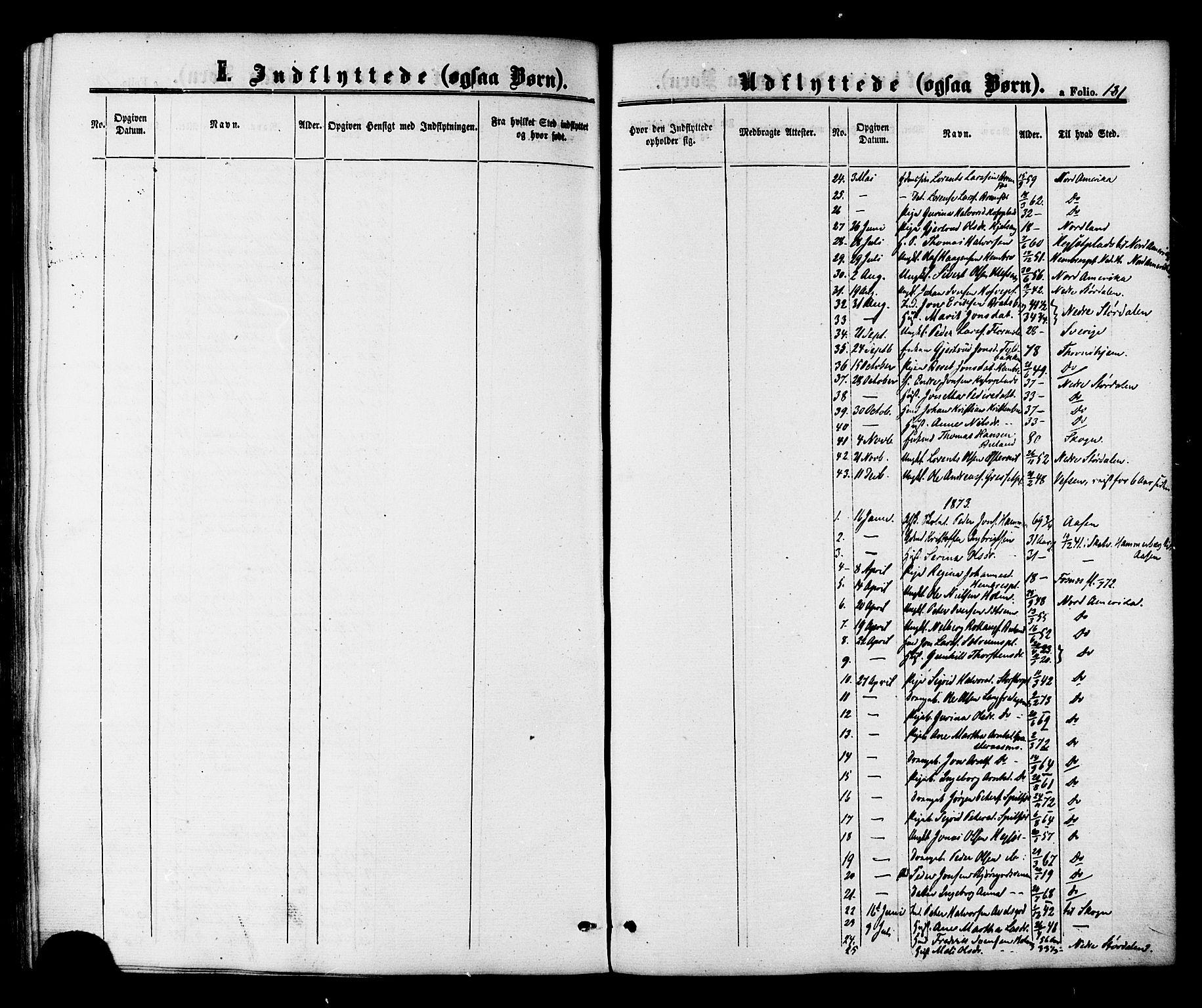 SAT, Ministerialprotokoller, klokkerbøker og fødselsregistre - Nord-Trøndelag, 703/L0029: Ministerialbok nr. 703A02, 1863-1879, s. 181
