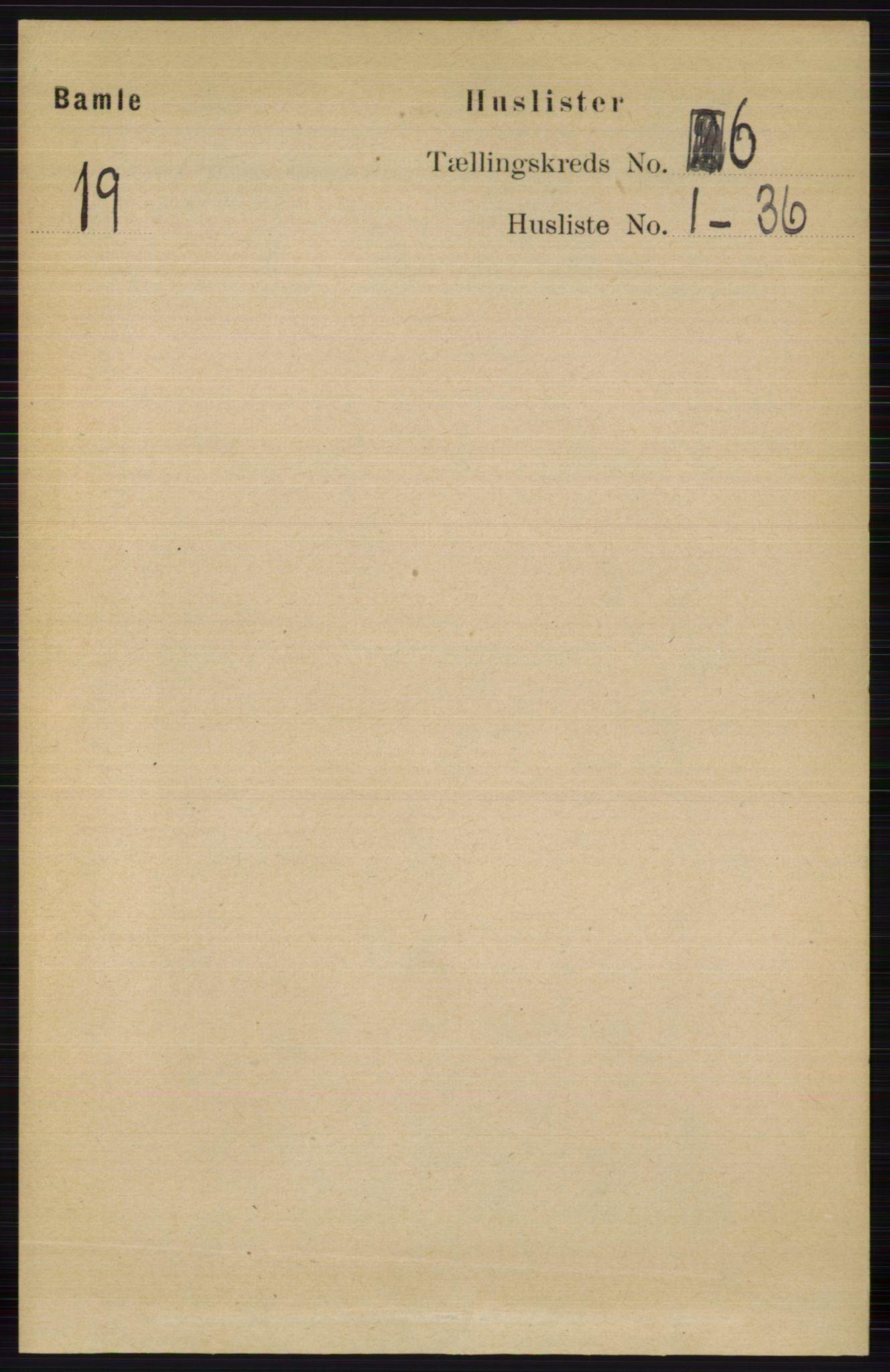 RA, Folketelling 1891 for 0814 Bamble herred, 1891, s. 2655