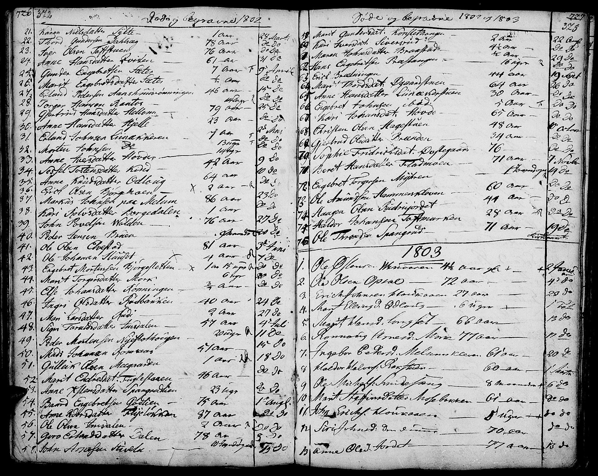 SAH, Ringebu prestekontor, Ministerialbok nr. 3, 1781-1820, s. 372-373