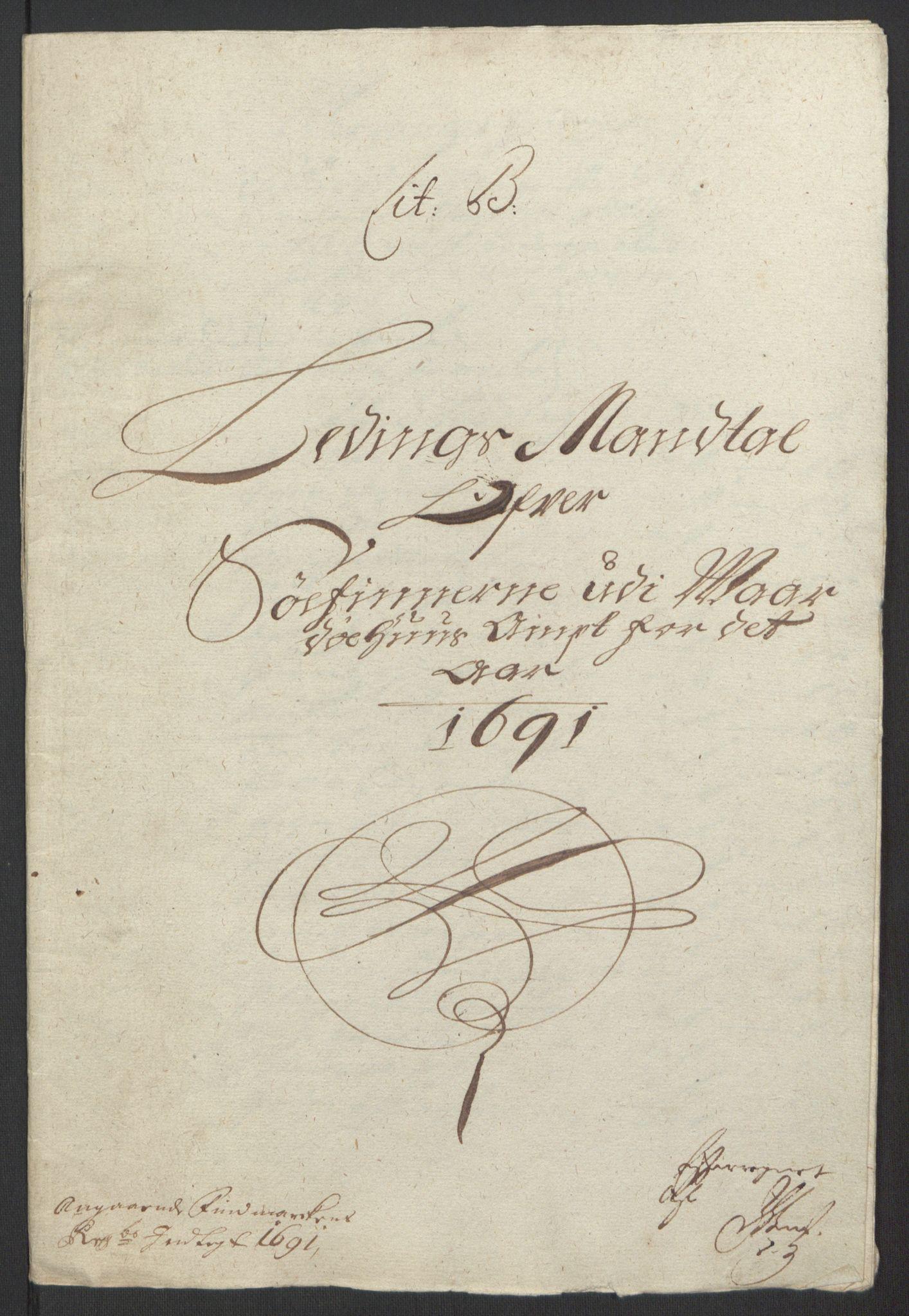RA, Rentekammeret inntil 1814, Reviderte regnskaper, Fogderegnskap, R69/L4851: Fogderegnskap Finnmark/Vardøhus, 1691-1700, s. 24