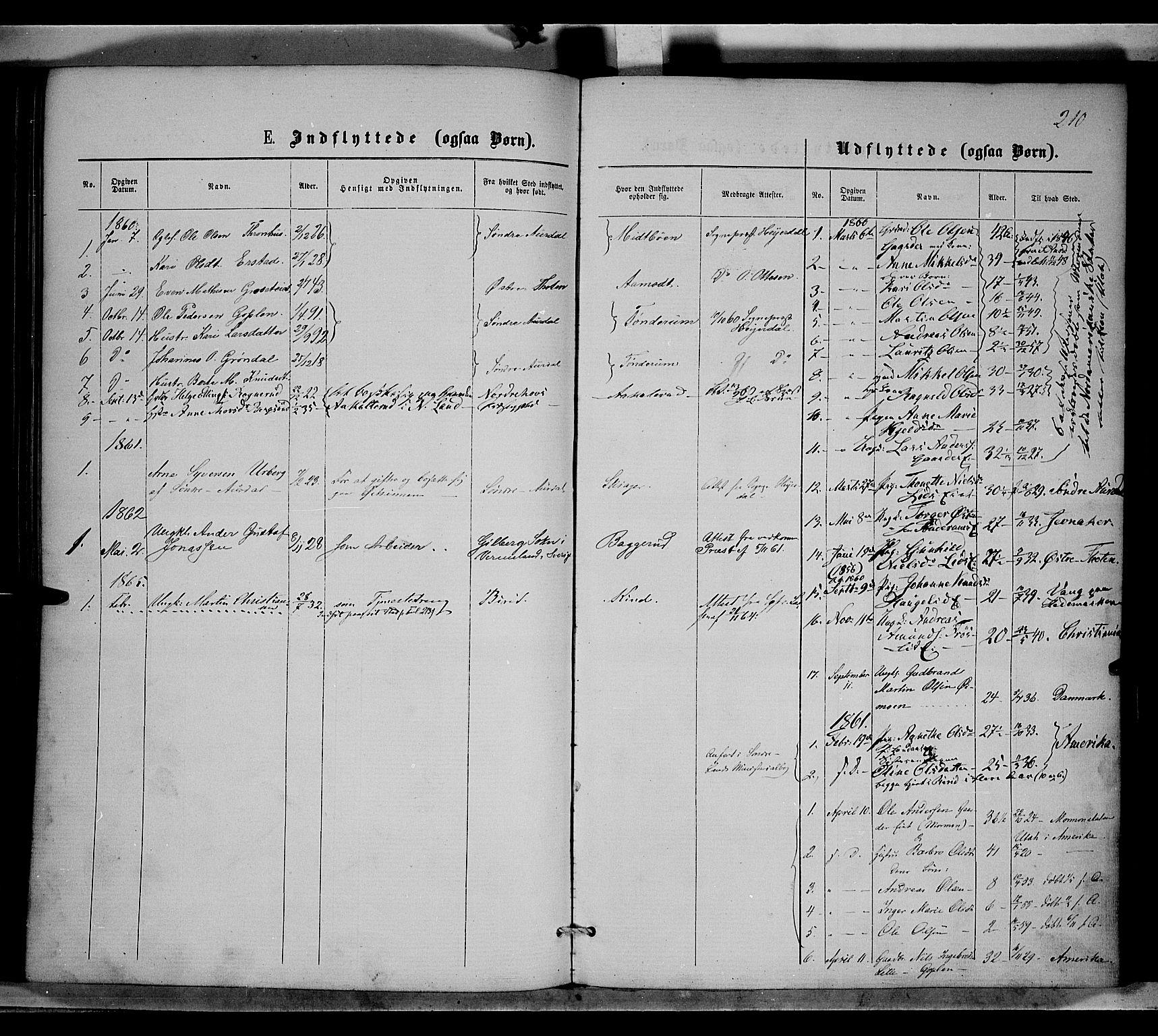 SAH, Nordre Land prestekontor, Ministerialbok nr. 1, 1860-1871, s. 210