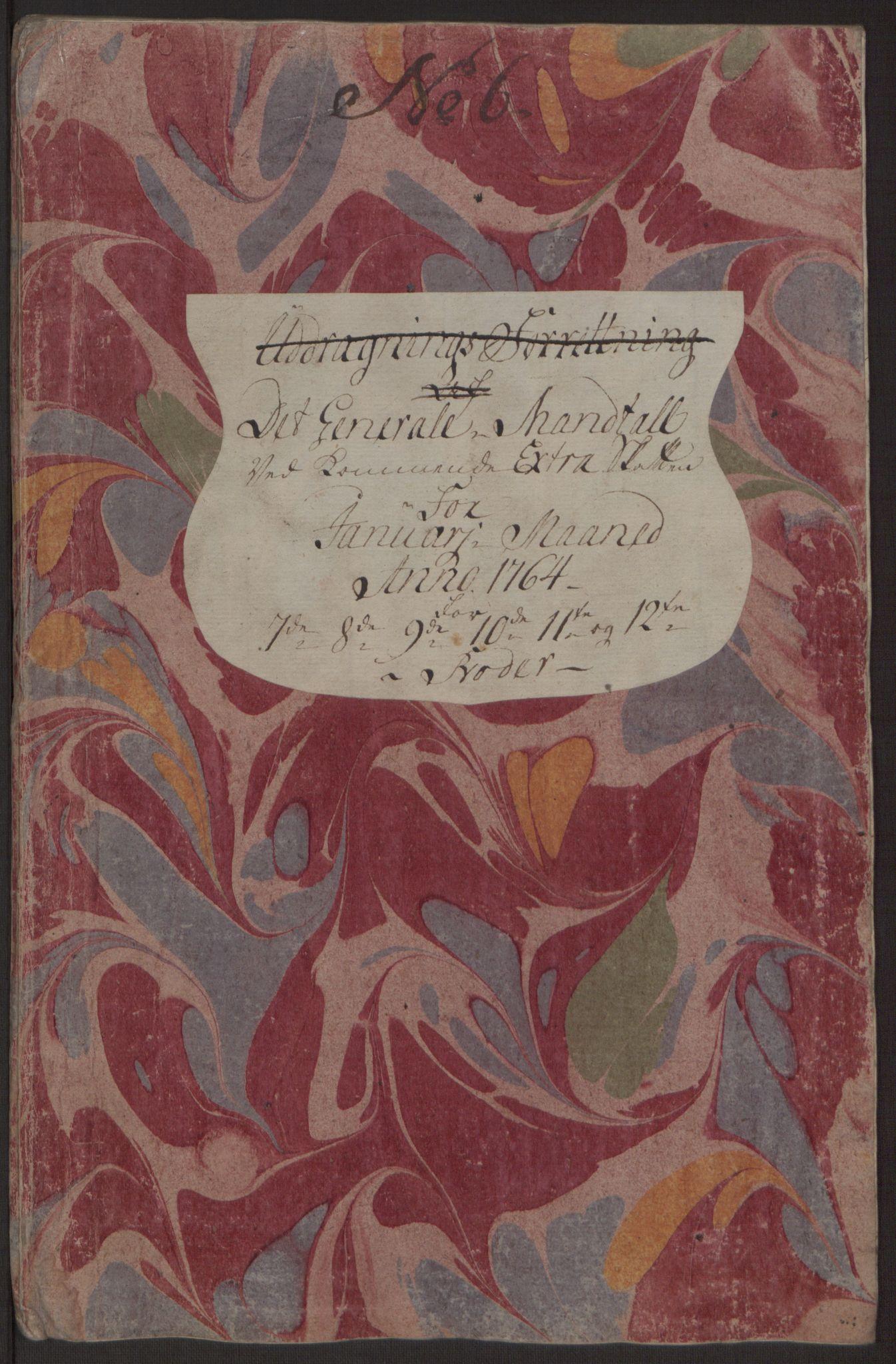 RA, Rentekammeret inntil 1814, Reviderte regnskaper, Byregnskaper, R/Rp/L0367: [P21] Kontribusjonsregnskap, 1764, s. 177