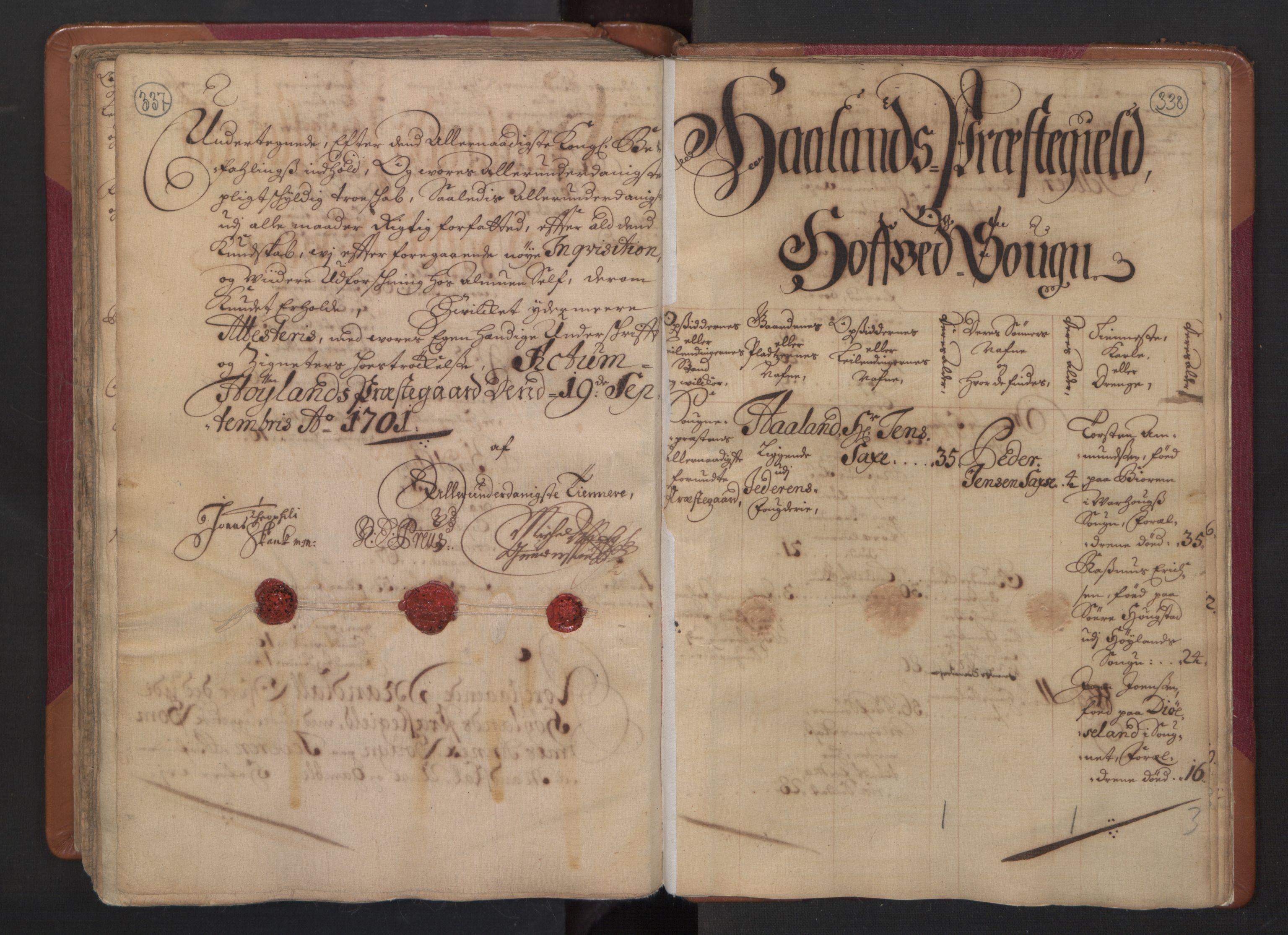 RA, Manntallet 1701, nr. 4: Jæren og Dalane fogderi, 1701, s. 337-338