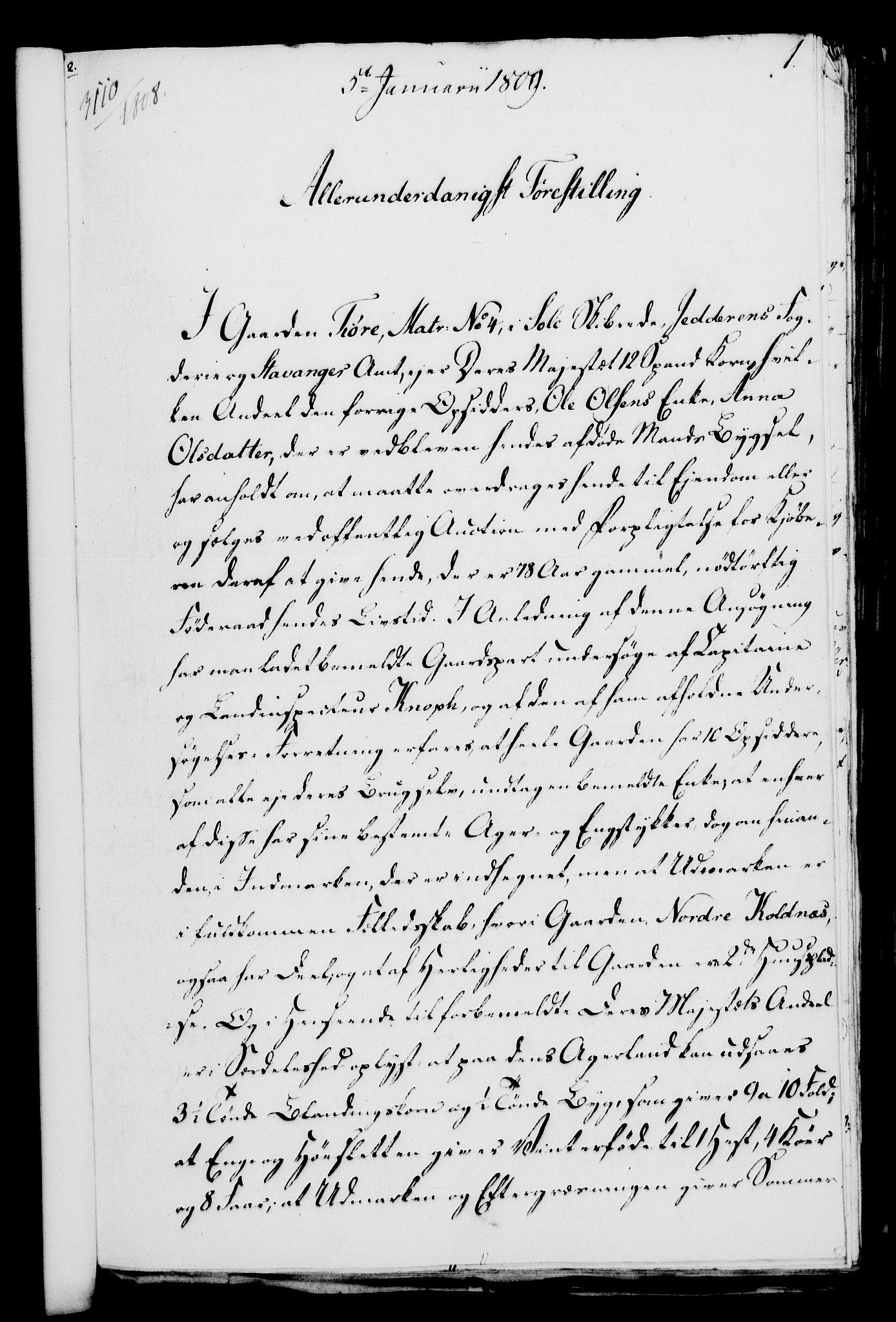 RA, Rentekammeret, Kammerkanselliet, G/Gf/Gfa/L0091: Norsk relasjons- og resolusjonsprotokoll (merket RK 52.91), 1809, s. 29